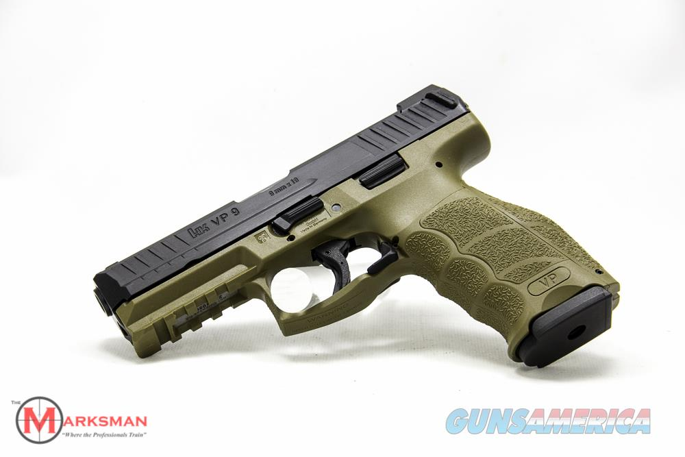 Heckler and Koch VP9 9mm,Flat Dark Earth Night Sights NEW  Guns > Pistols > Heckler & Koch Pistols > Polymer Frame