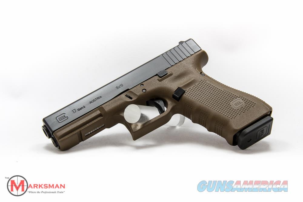 Glock 17 Generation 4, 9mm, Flat Dark Earth NEW  Guns > Pistols > Glock Pistols > 17