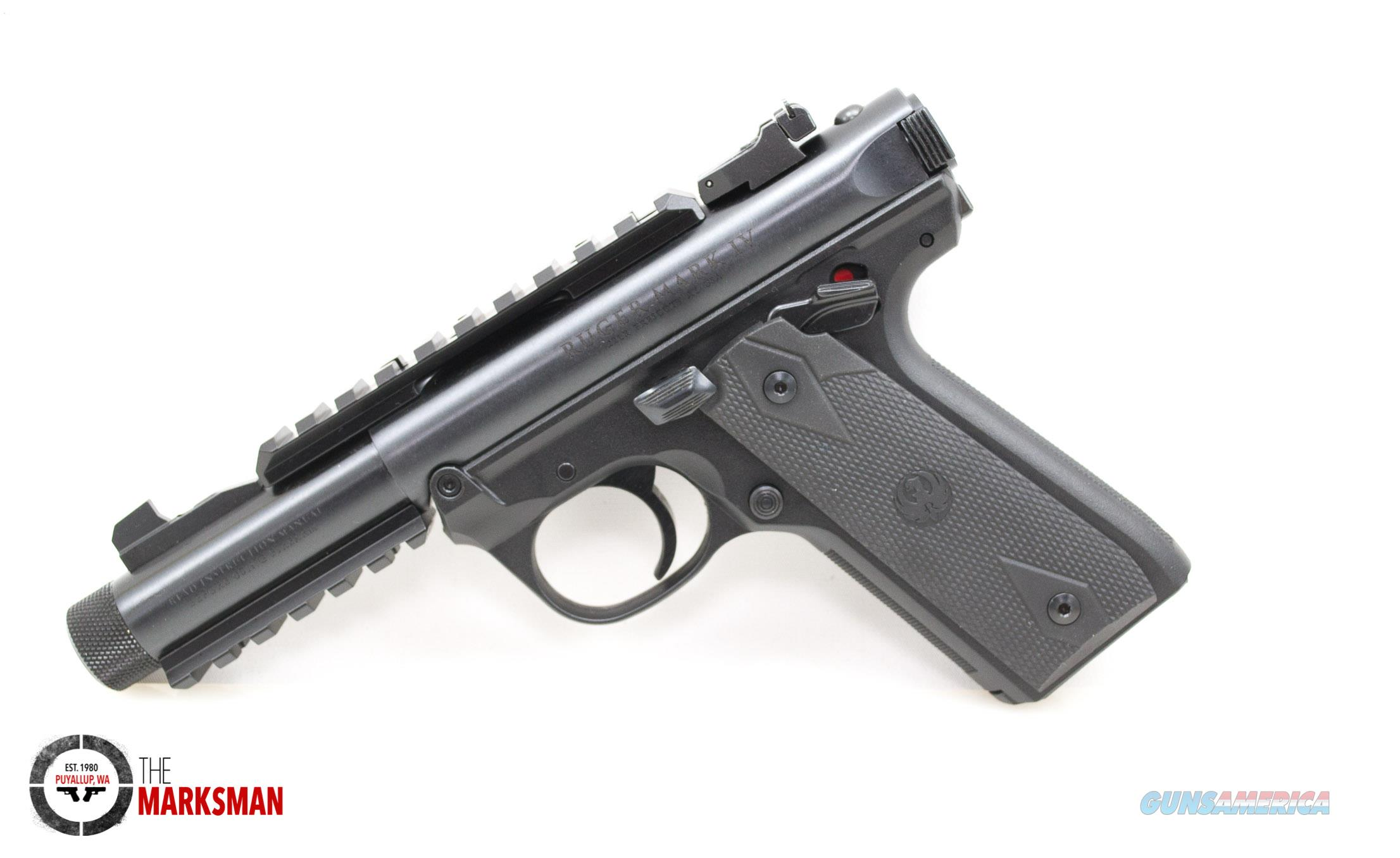 Ruger Mark IV .22 Tactical NEW 40149  Guns > Pistols > Ruger Semi-Auto Pistols > Mark I/II/III/IV Family
