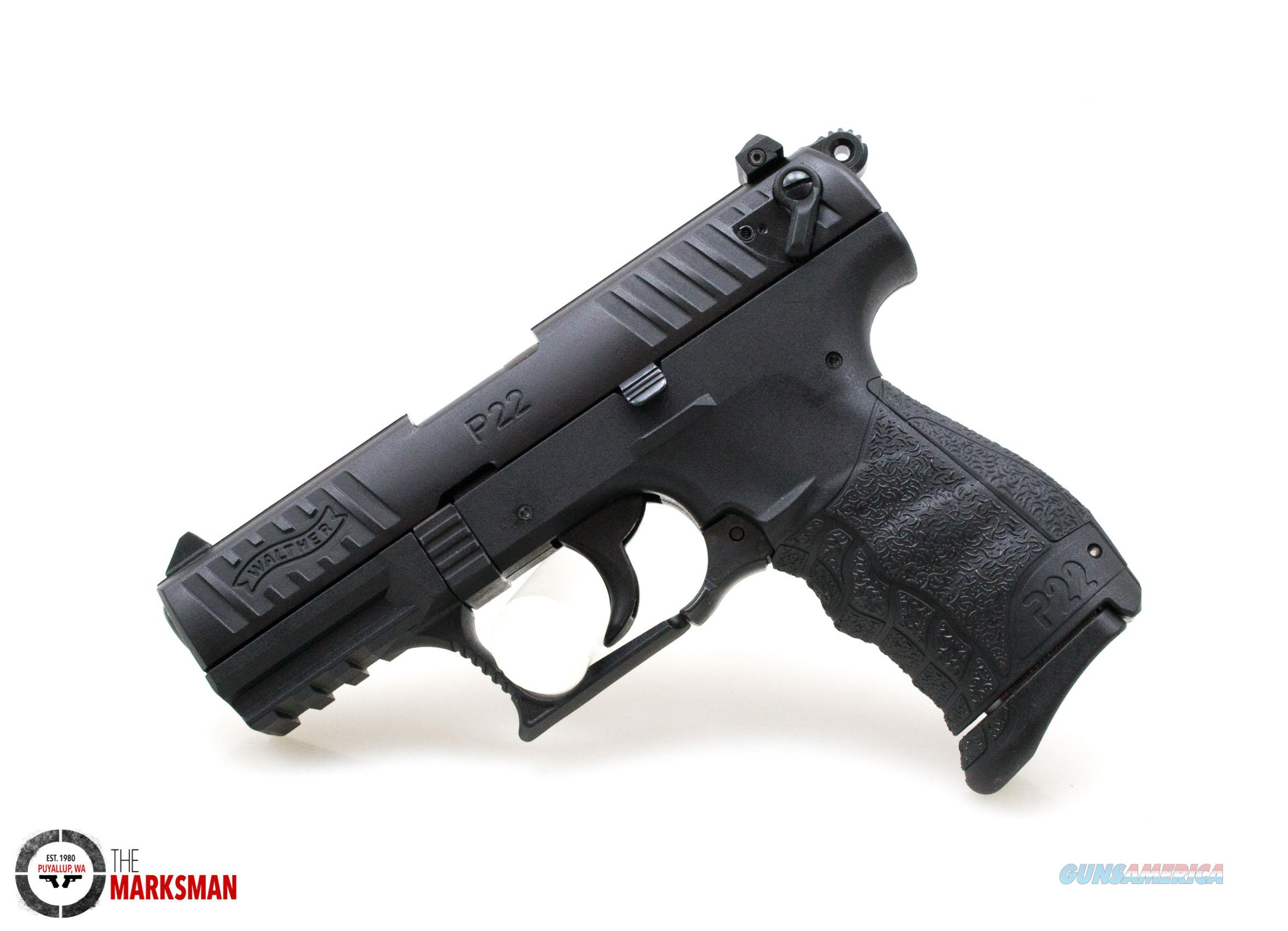 Walther P22 QD, .22 lr NEW 5120500  Guns > Pistols > Walther Pistols > Post WWII > P22