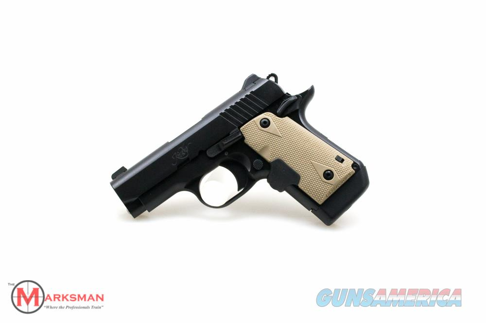 Kimber Micro 9, 9mm NEW With Desert Tan Laser Grips, Free Shipping  Guns > Pistols > Kimber of America Pistols > Micro 9