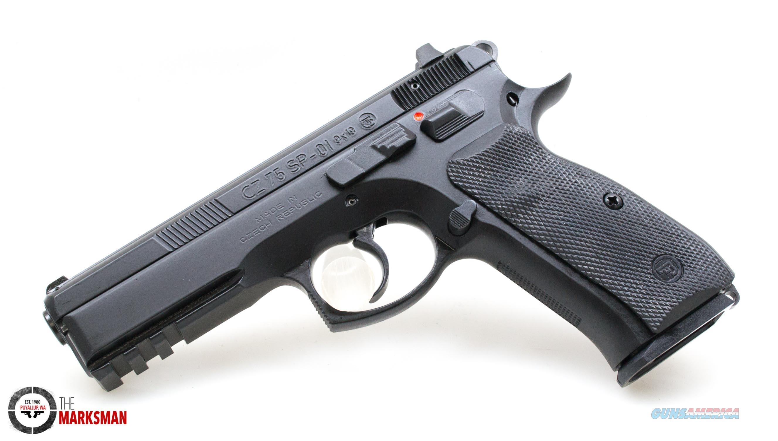 CZ 75 SP-01, 9mm   Guns > Pistols > CZ Pistols