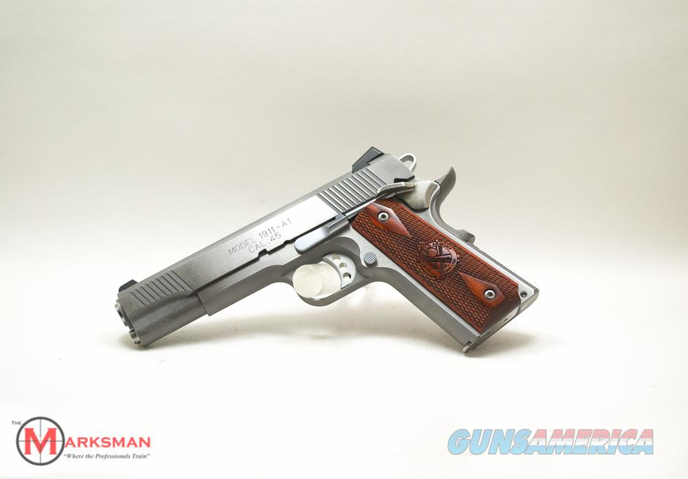 Springfield Stainless Steel Loaded 1911, .45 ACP NEW PX9151L  Guns > Pistols > Springfield Armory Pistols > 1911 Type