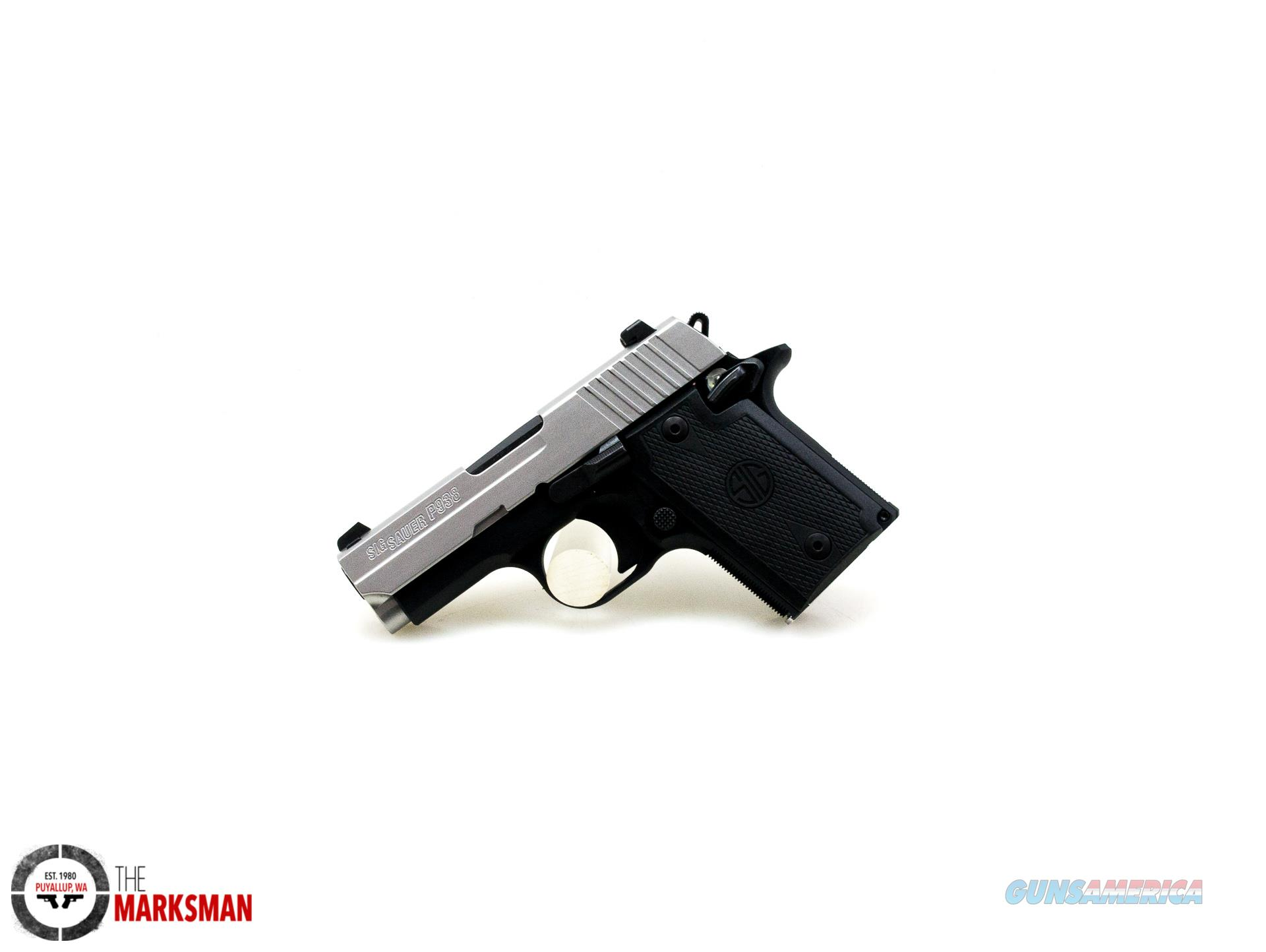 Sig Sauer P938 Two Tone, 9mm NEW 938-9-T-NBS-AMBI  Guns > Pistols > Sig - Sauer/Sigarms Pistols > P938