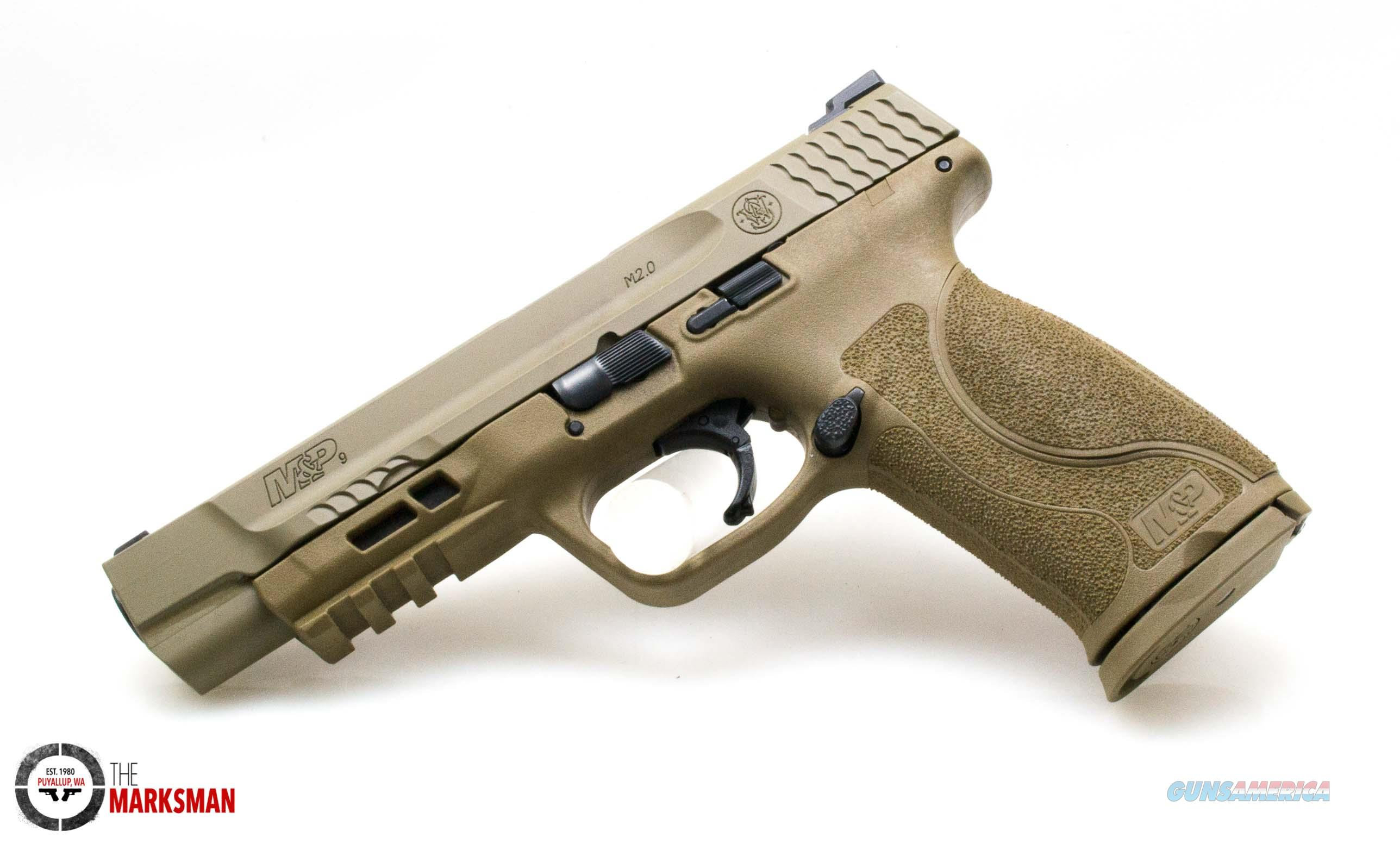 Smith and Wesson M&P9 M2.0 NTS FDE, 9mm   Guns > Pistols > Smith & Wesson Pistols - Autos > Polymer Frame