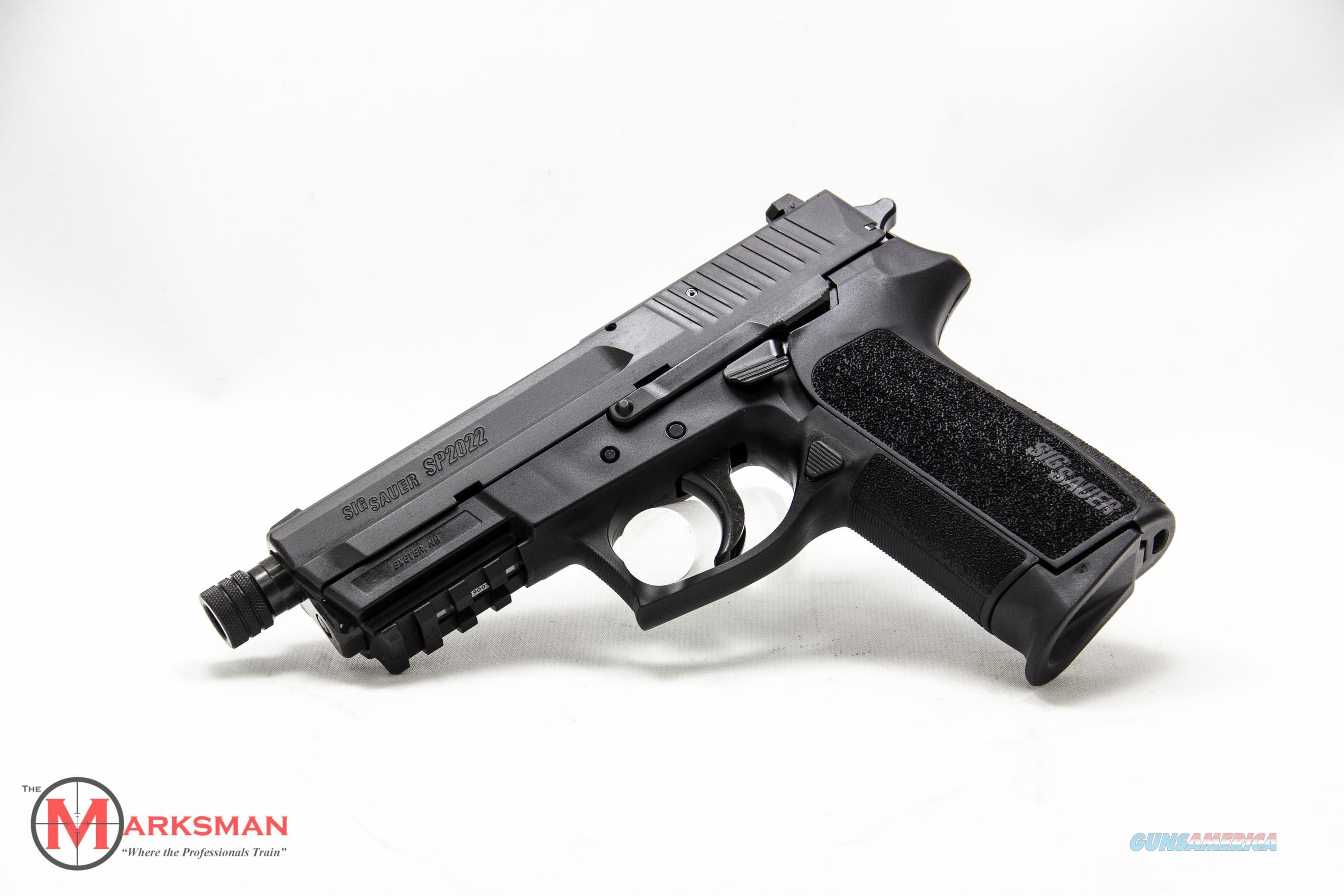 Sig Sauer SP2022, 9mm, Night Sights & Threaded ... for sale