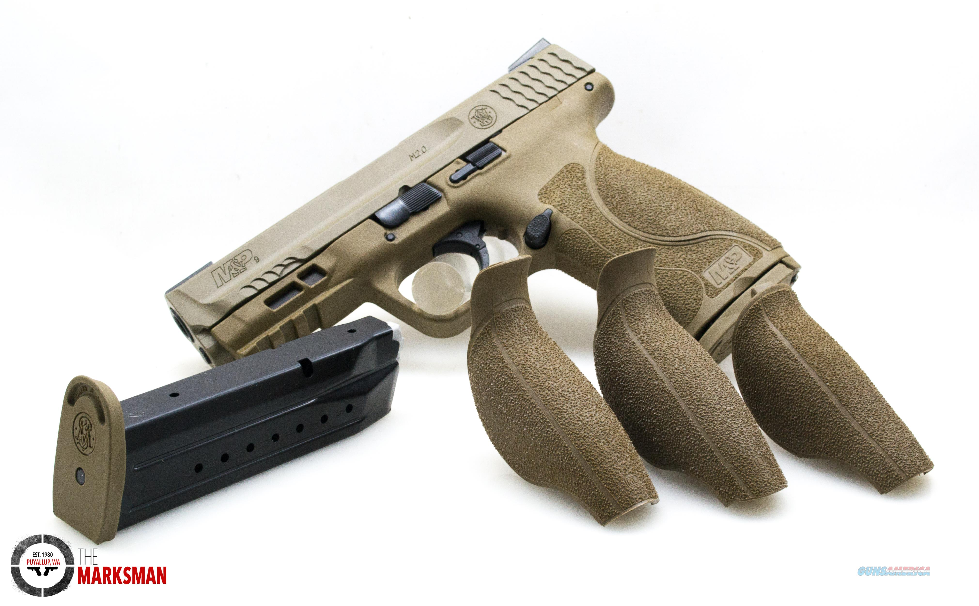 Smith and Wesson M&P9 M2.0, 9mm, FDE NEW TruGlo TFX   Guns > Pistols > Smith & Wesson Pistols - Autos > Polymer Frame