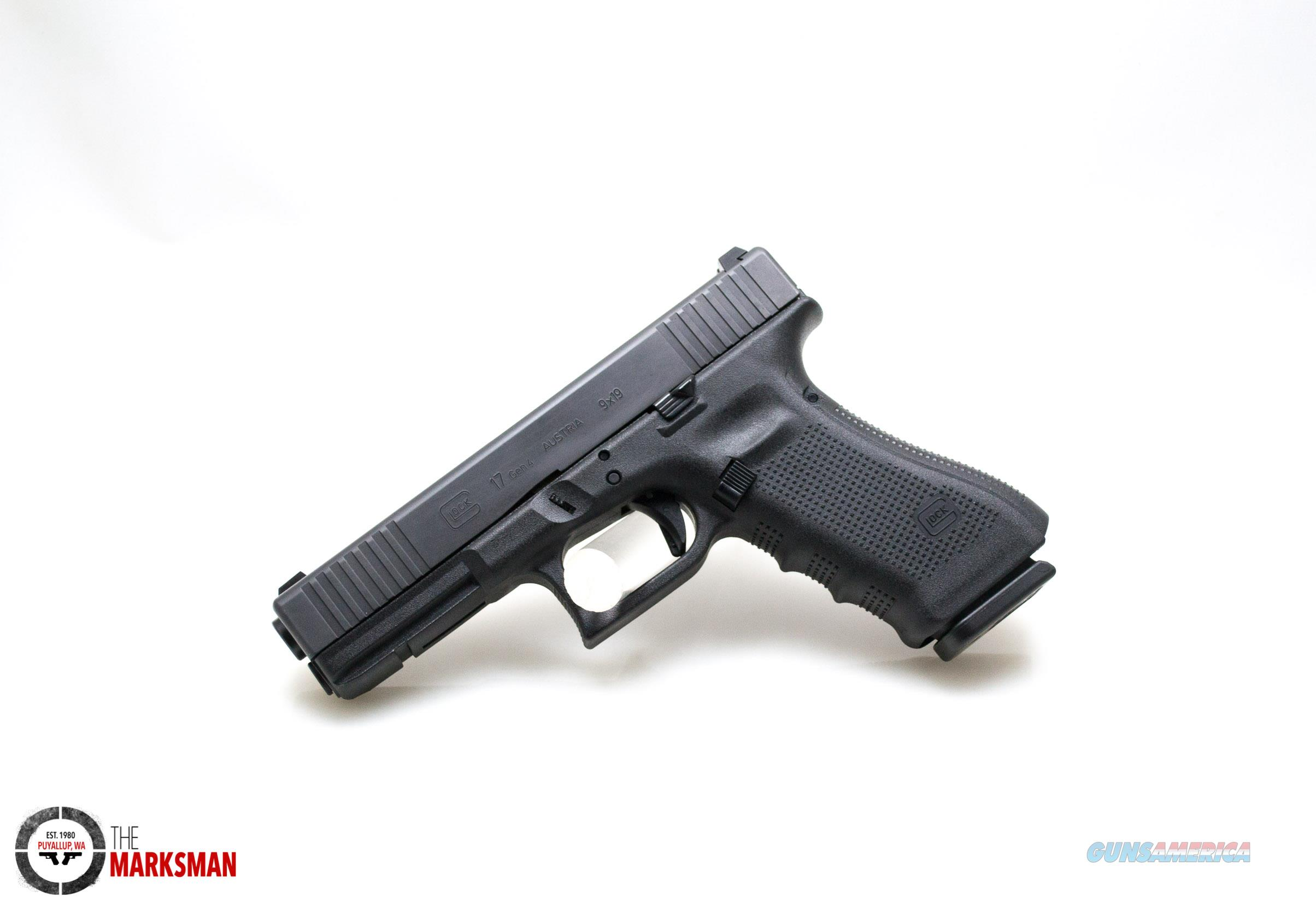 Glock 17 Generation 4, 9mm, Front Serrations and Steel Sights NEW  Guns > Pistols > Glock Pistols > 17