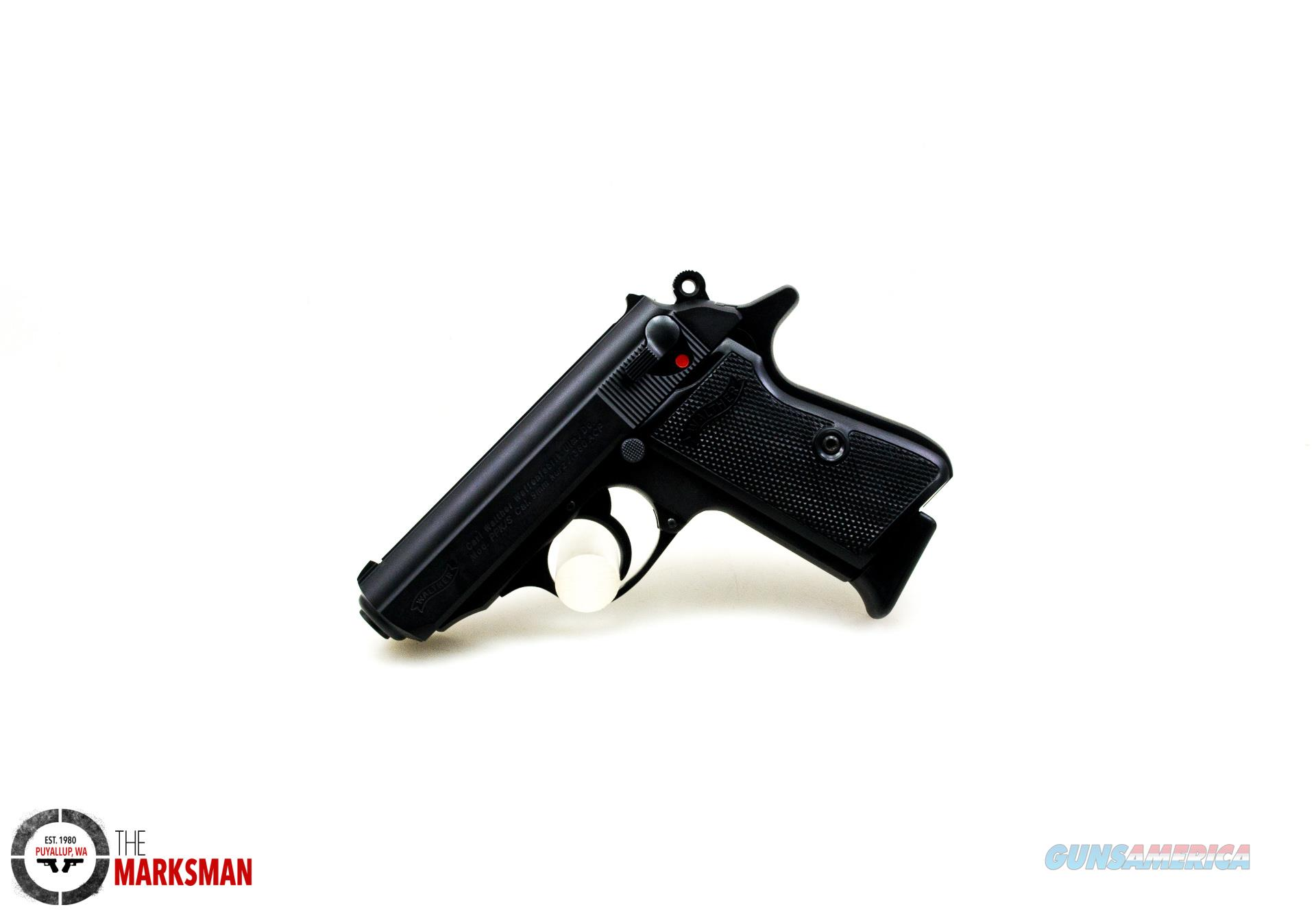 Walther PPK/s, .380 ACP, Black NEW 4796006  Guns > Pistols > Walther Pistols > Post WWII > PPK Series