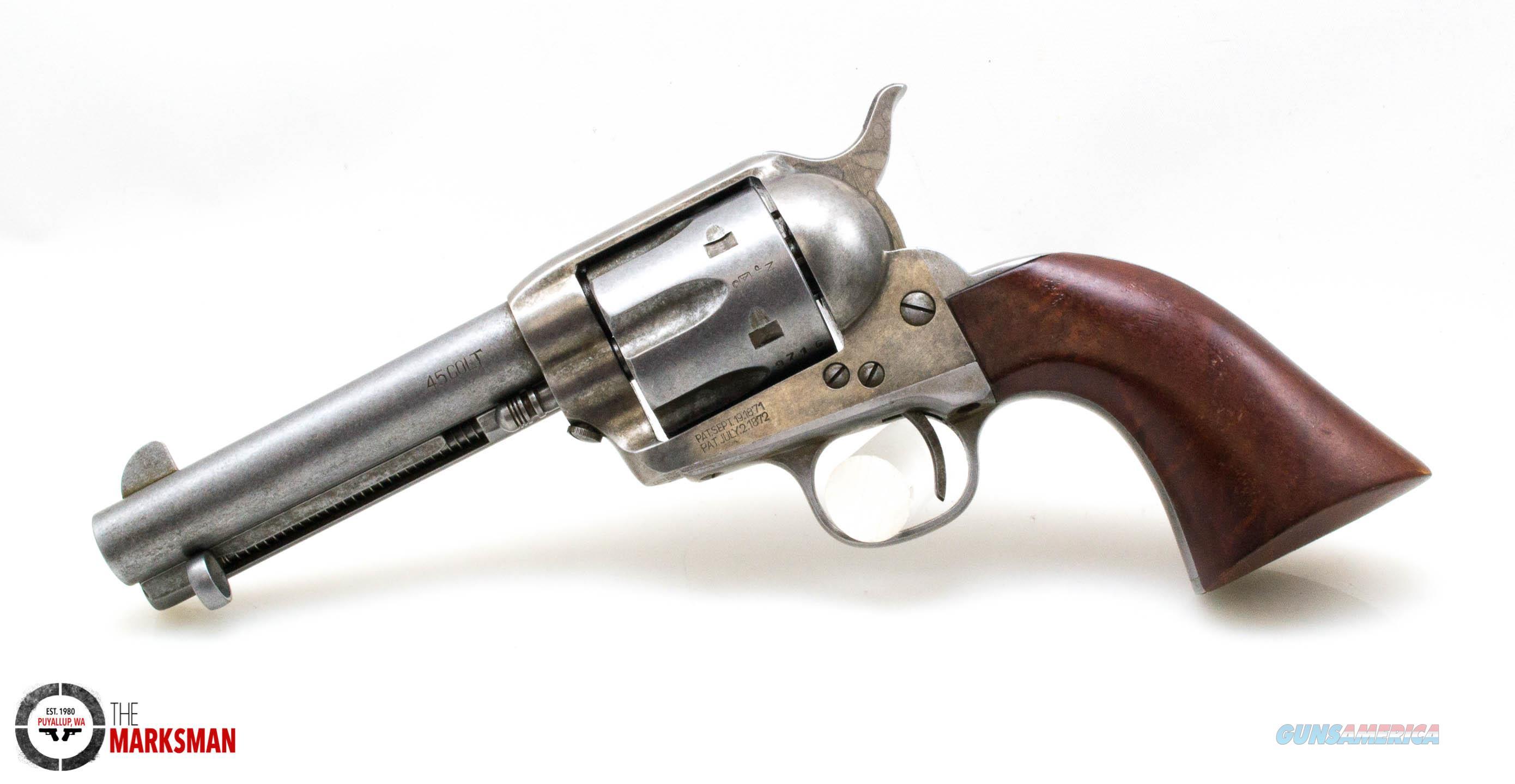 "Cimarron Model P, .45 Colt, 4.75"" Barrel NEW Original Finish  Guns > Pistols > Cimmaron Pistols"