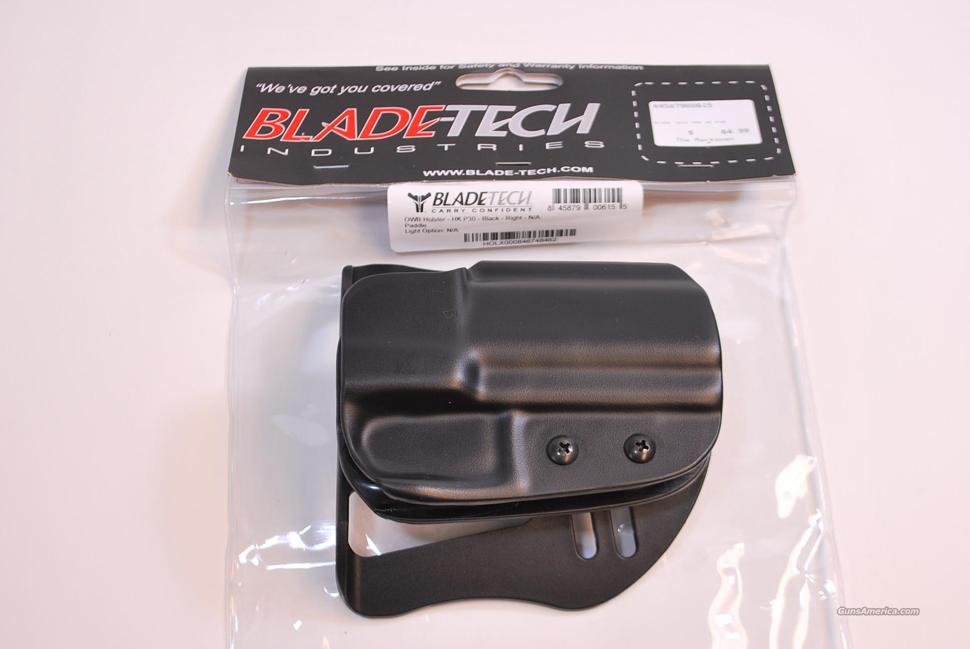 Blade Tech Paddle Holster HK P30 NEW  Non-Guns > Holsters and Gunleather > Concealed Carry