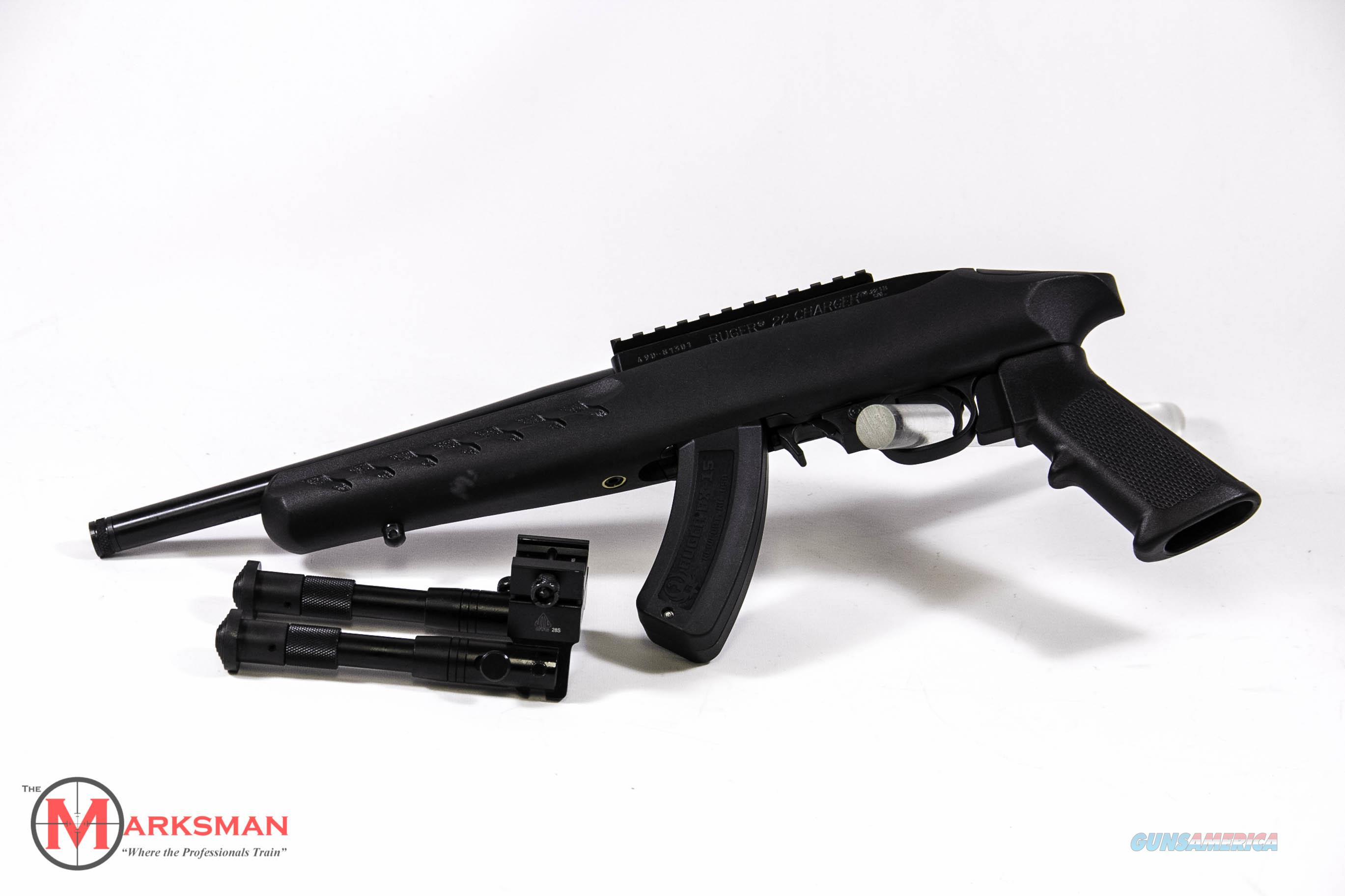 Ruger Charger 22 LR NEW 04923  Guns > Pistols > Ruger Semi-Auto Pistols > Charger Series
