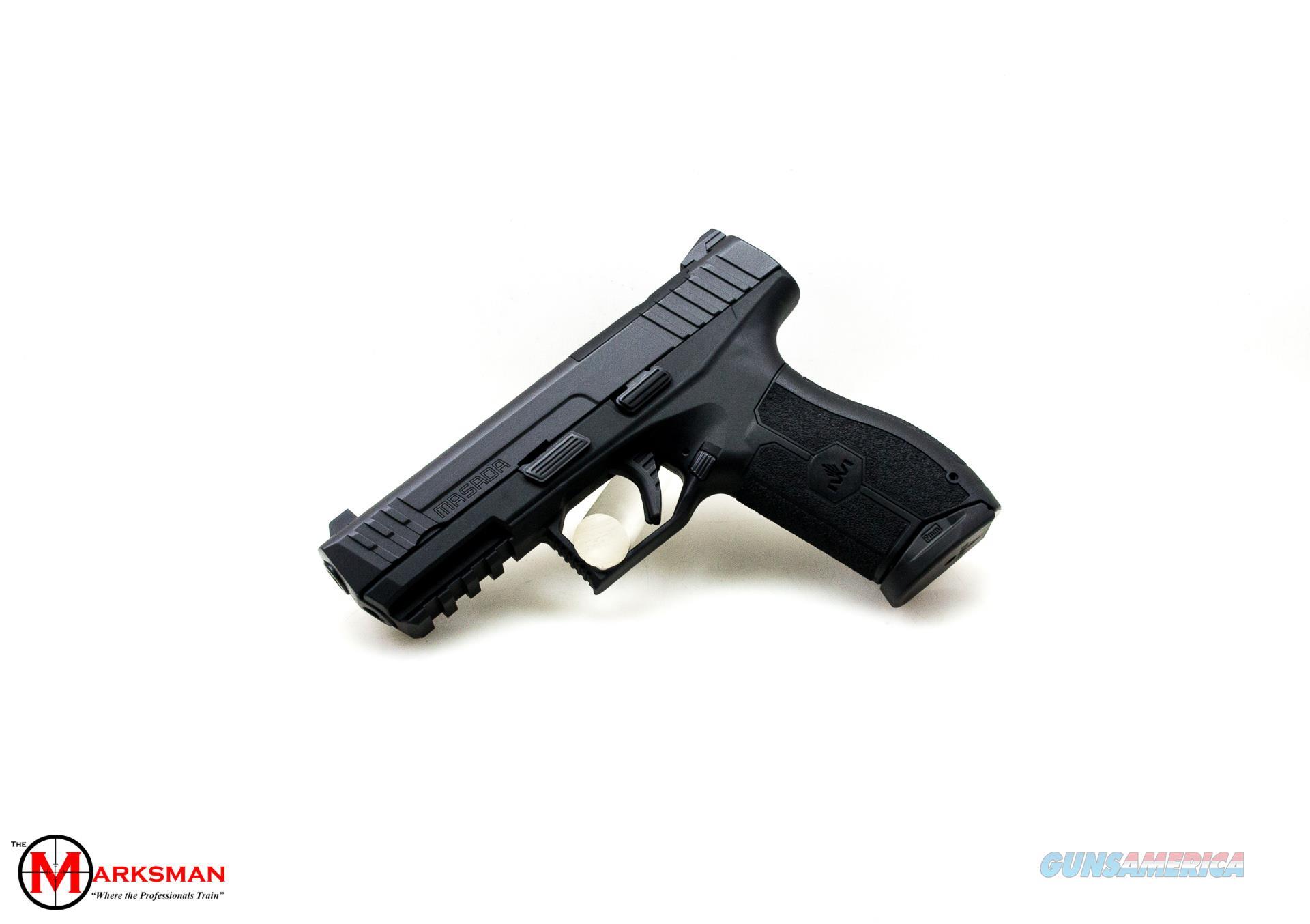IWI Masada, 9mm, Optic Ready Slide NEW   Guns > Pistols > IWI Pistols