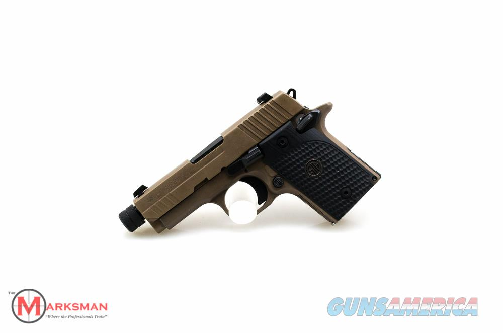 Sig Sauer P938 Emperor Scorpion, 9mm NEW Threaded Barrel, Free Shipping  Guns > Pistols > Sig - Sauer/Sigarms Pistols > P938