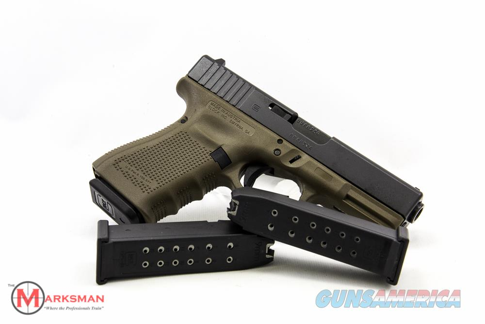Glock 19 Generation 4 9mm Flat Dark Earth NEW  Guns > Pistols > Glock Pistols > 19