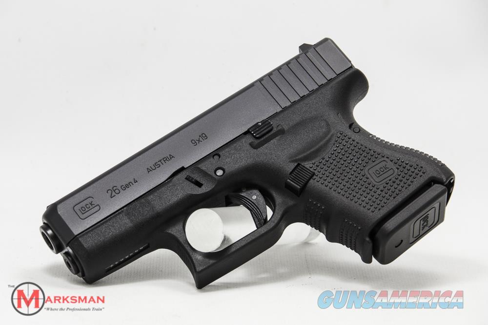 Glock 26 Generation 4, 9mm NEW PG2650201  Guns > Pistols > Glock Pistols > 26/27
