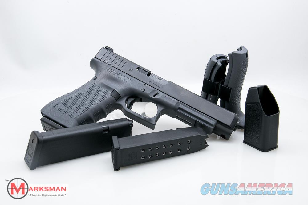 Glock 34 Generation 4, 9mm, Grey NEW Lipsey's Exclusive  Guns > Pistols > Glock Pistols > 34