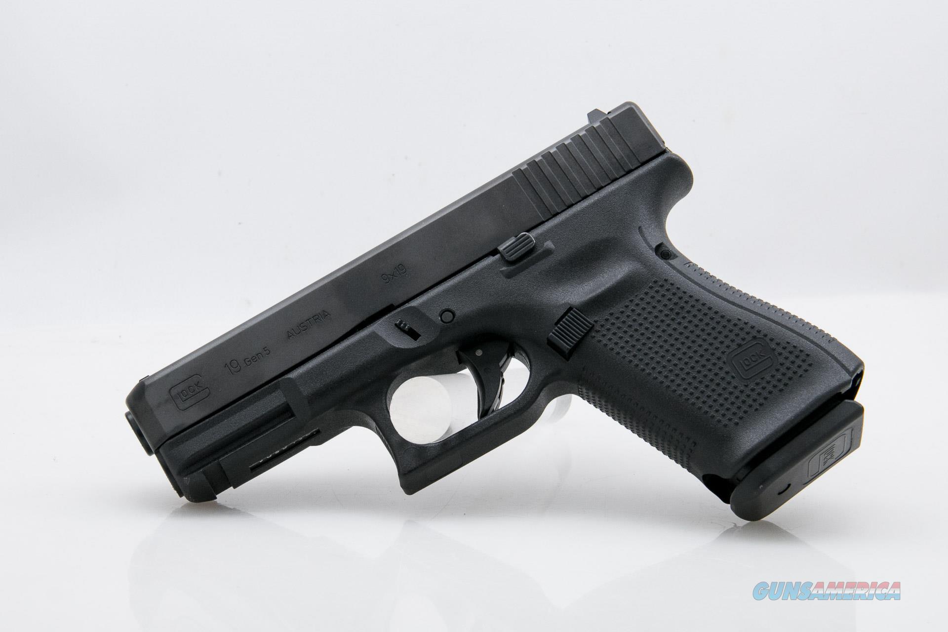 Glock 19 Generation 5 MOS, 9mm NEW PA195S203MOS  Guns > Pistols > Glock Pistols > 19/19X