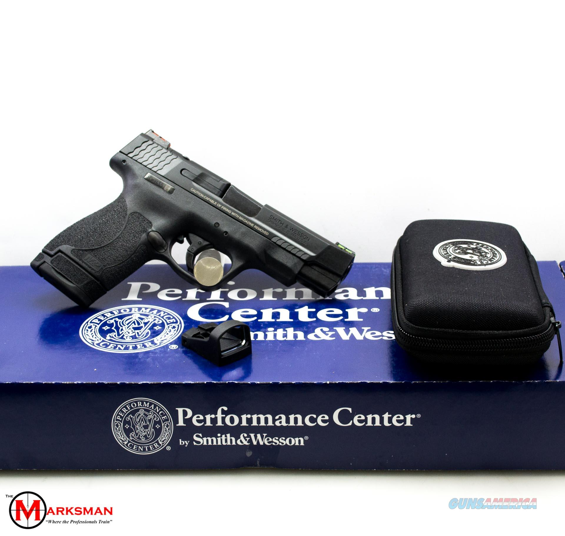 """Smith and Wesson Performance Center M&P9 Shield M2.0, 9mm, 4"""", Optics Ready NEW 11786  Guns > Pistols > Smith & Wesson Pistols - Autos > Shield"""