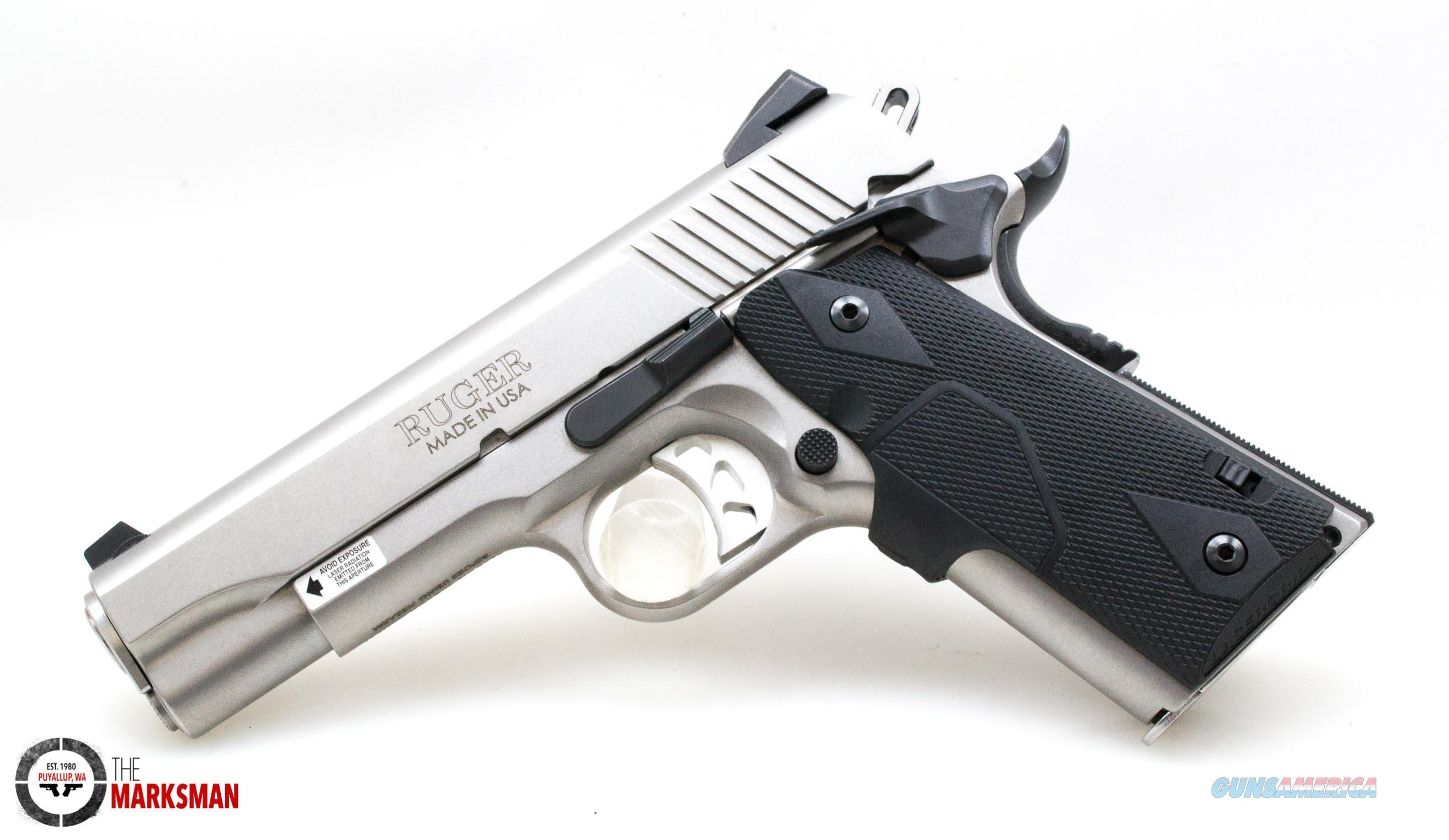 Ruger SR1911 Commander with CT Grip, .45 ACP   Guns > Pistols > Ruger Semi-Auto Pistols > 1911