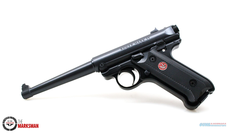 Ruger Mark IV Standard, .22 lr NEW 40105  Guns > Pistols > Ruger Semi-Auto Pistols > Mark I/II/III/IV Family