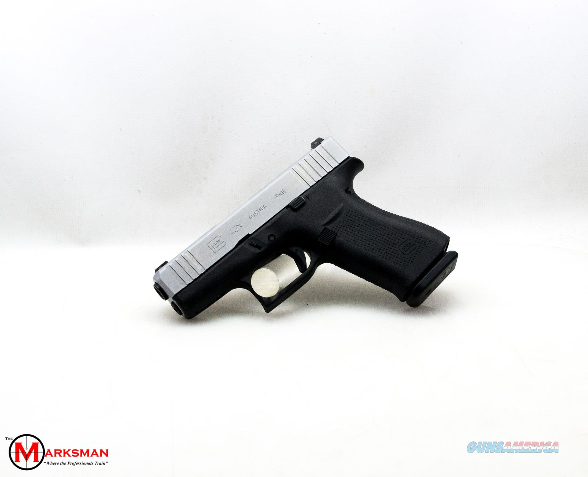Glock 43X, 9mm, Tritium Night Sights NEW  Guns > Pistols > Glock Pistols > 43/43X