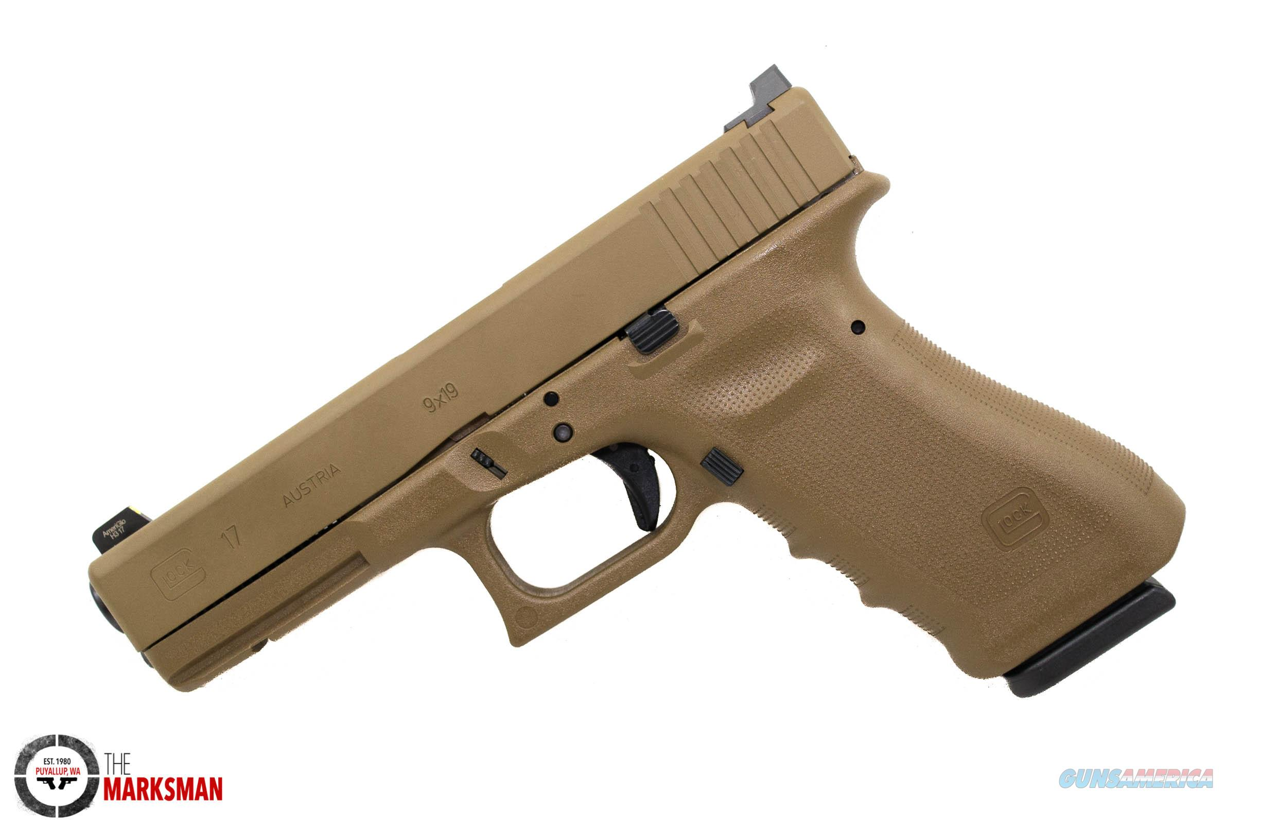 Glock 17 RTF2, 9mm, Lipsey's/Vickers Tactical Exclusive, FDE NEW  Guns > Pistols > Glock Pistols > 17