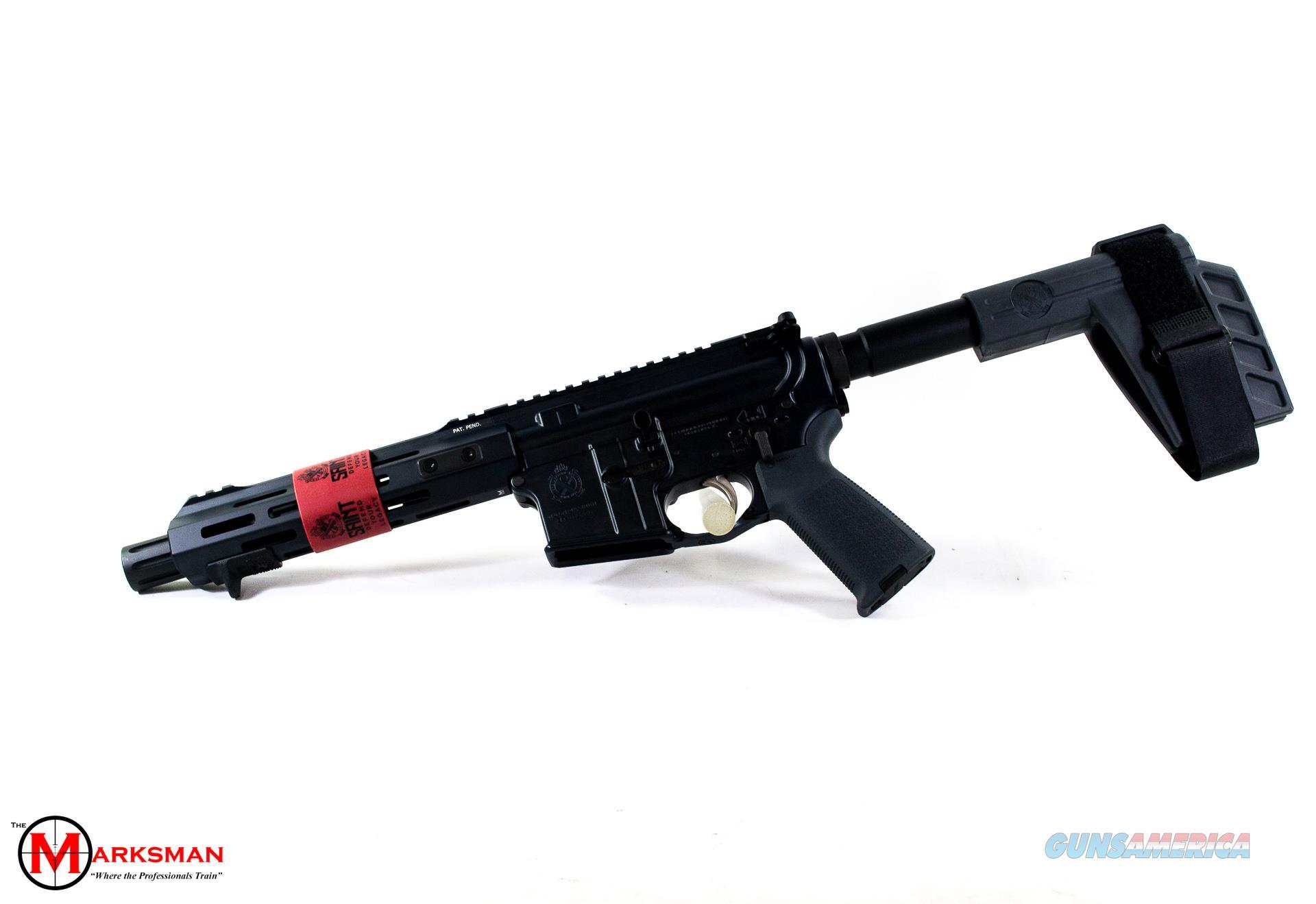 Springfield Armory Saint AR-15 Pistol, 5.56mm NATO, Gray NEW  Guns > Pistols > Springfield Armory Pistols > SAINT Pistol