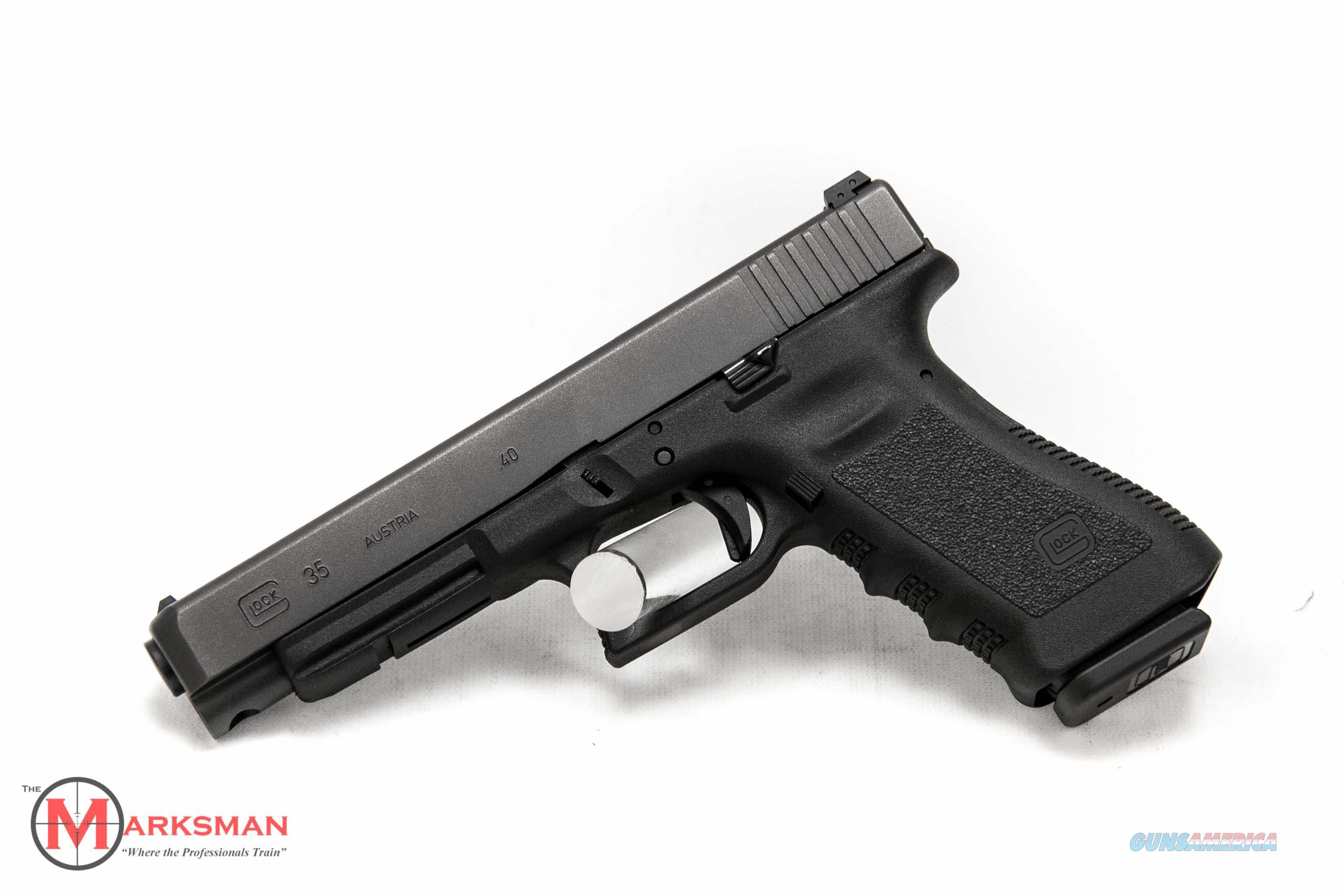 Glock 35 Generation 3 .40 S&W NEW  Guns > Pistols > Glock Pistols > 35