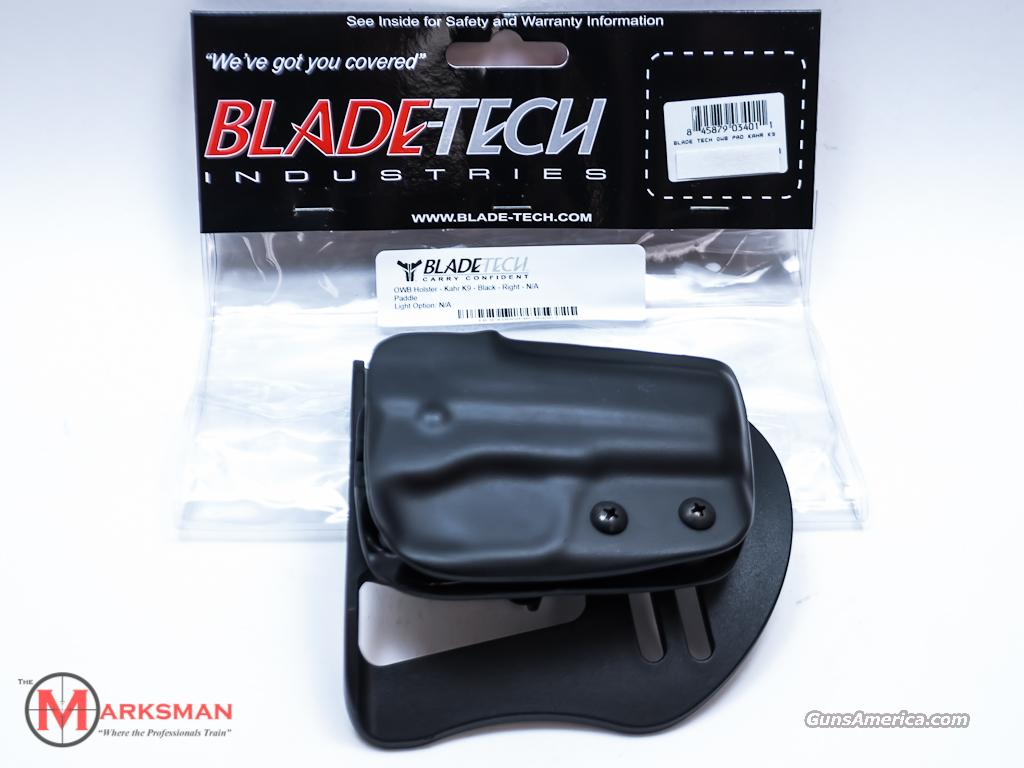Blade-Tech Paddle Holster Kahr K9 NEW  Non-Guns > Holsters and Gunleather > Concealed Carry