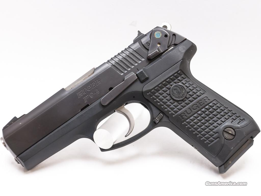 Ruger P94 40 S&W USED .40 P944  Guns > Pistols > Ruger Semi-Auto Pistols > P-Series