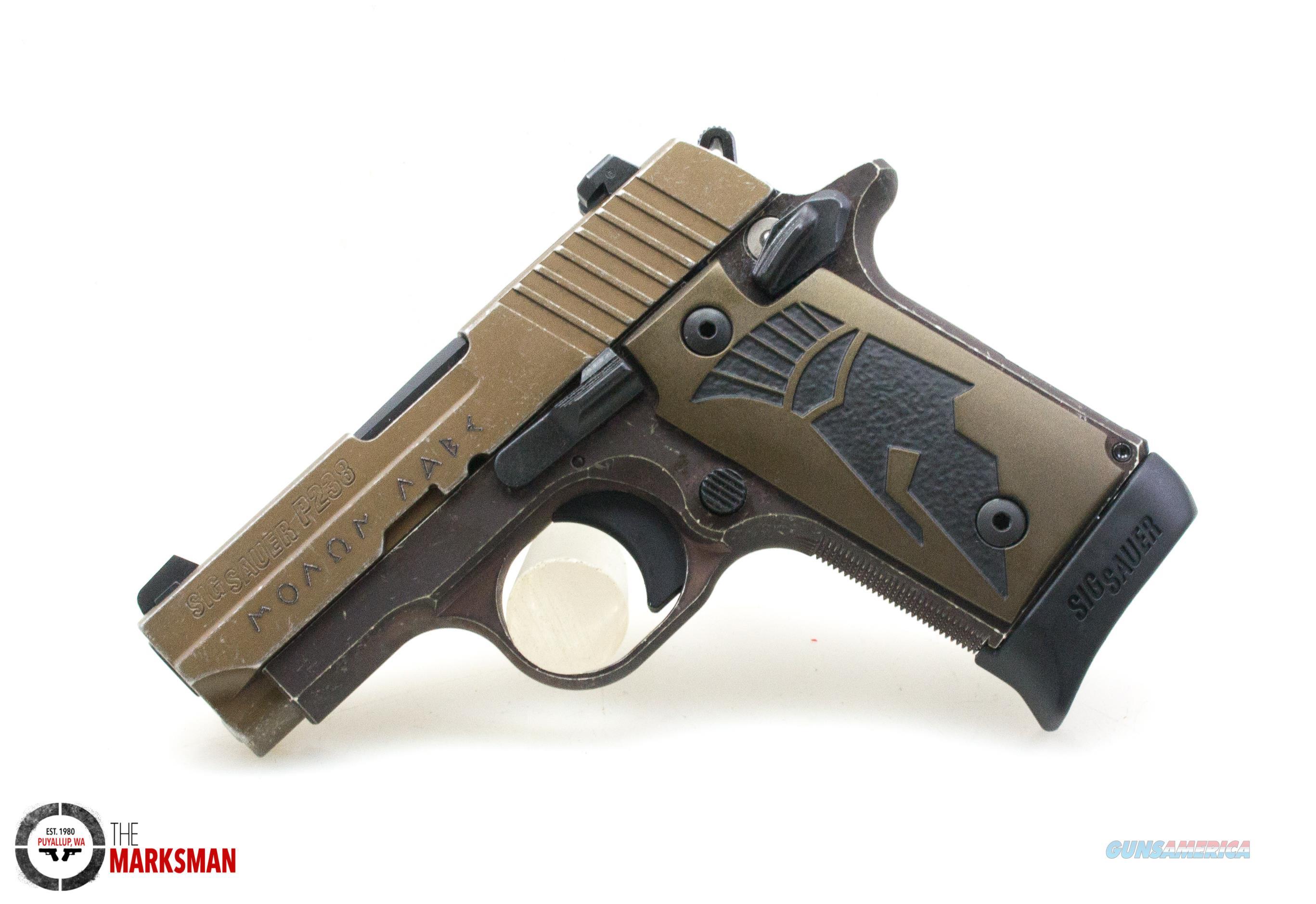 Sig Sauer P238 Spartan II, .380 ACP NEW  Guns > Pistols > Sig - Sauer/Sigarms Pistols > P238