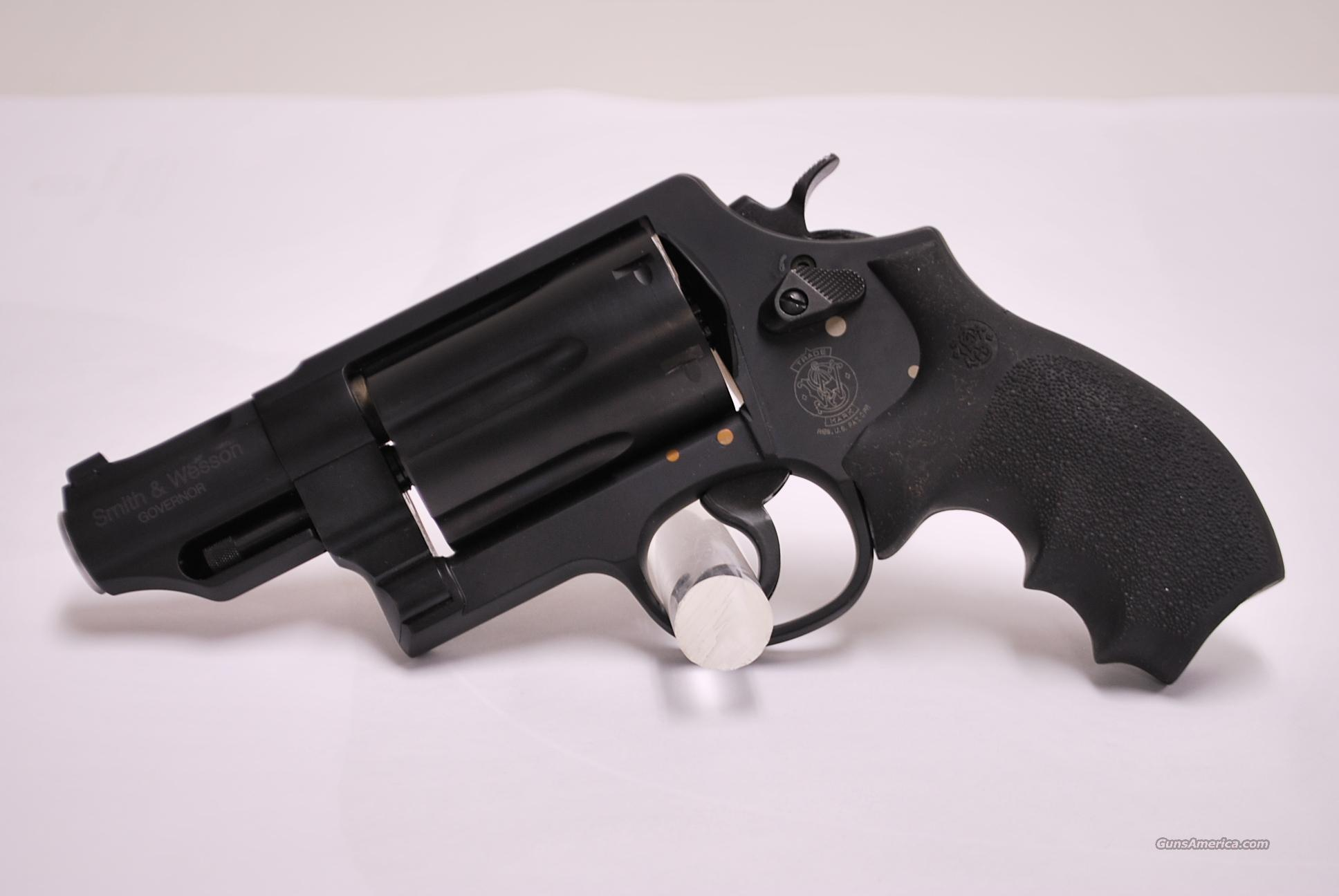 SMITH & WESSON GOVERNOR NEW .45/410 S&W SW   Guns > Pistols > Smith & Wesson Revolvers > Full Frame Revolver