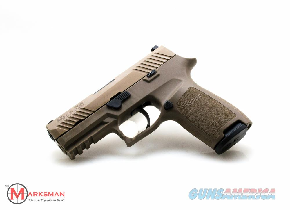 Sig Sauer P320 Carry, 9mm NEW Flat Dark Earth, Night Sights  Guns > Pistols > Sig - Sauer/Sigarms Pistols > P320