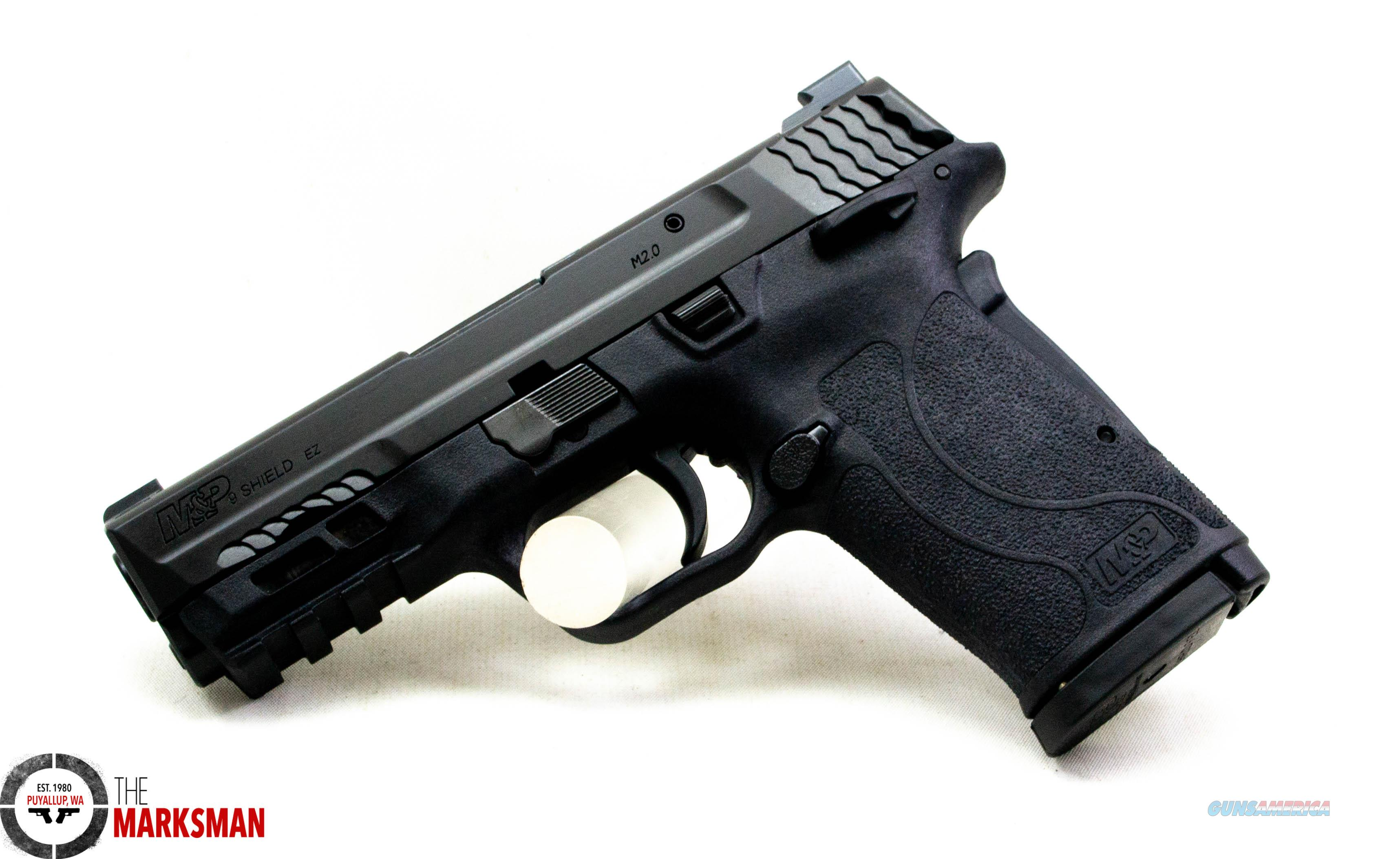 Smith and Wesson M&P9 Shield EZ, 9mm NEW Night Sights  Guns > Pistols > Smith & Wesson Pistols - Autos > Shield
