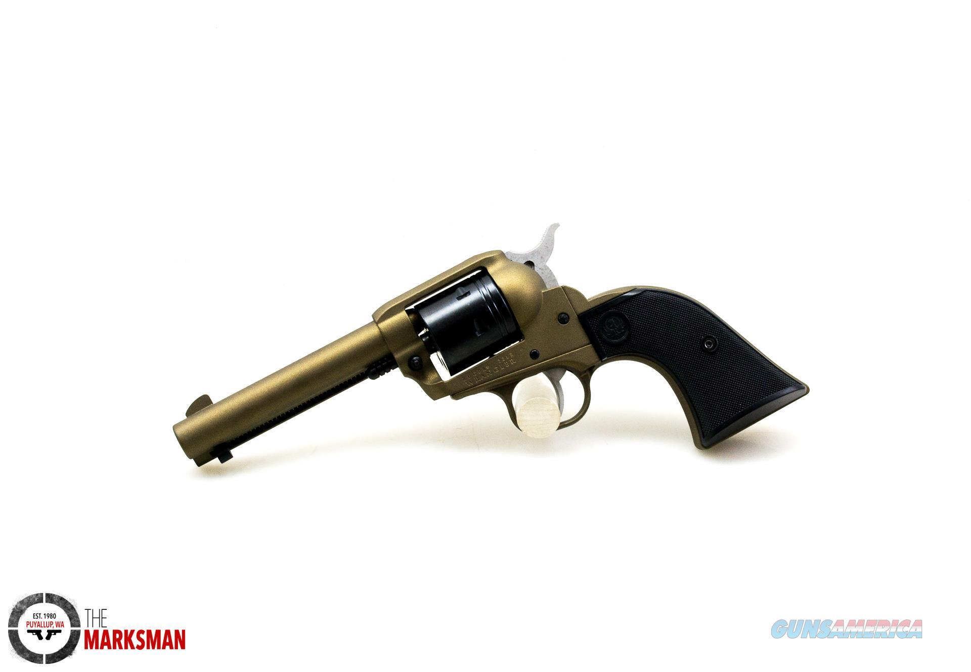 """Ruger Wrangler, .22 lr, 4.62"""" Barrel, Bronze  Guns > Pistols > Ruger Single Action Revolvers > Single Six Type"""