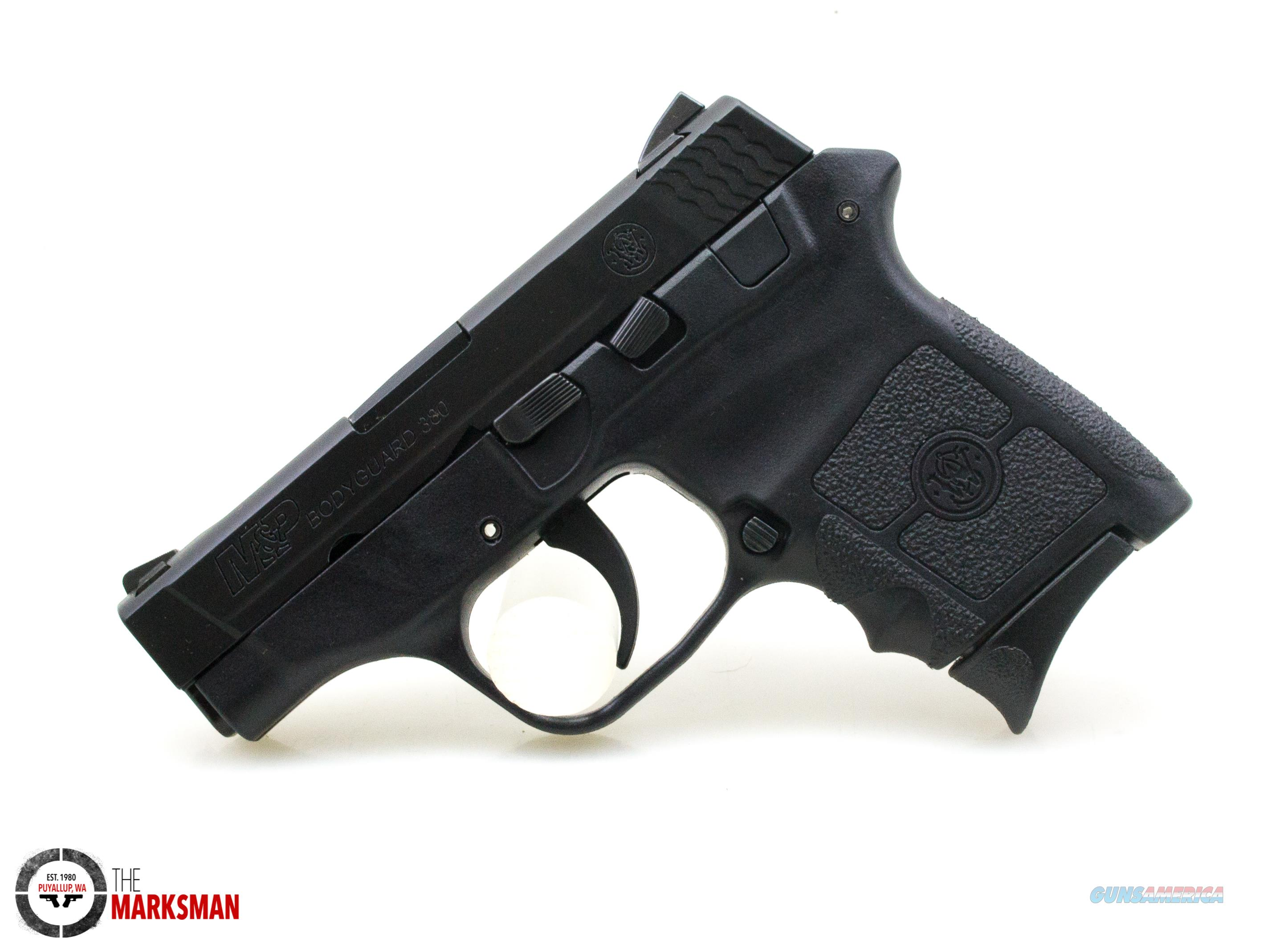 Smith and Wesson Bodyguard 380, .380 ACP, No Thumb Safety  Guns > Pistols > Smith & Wesson Pistols - Autos > Polymer Frame