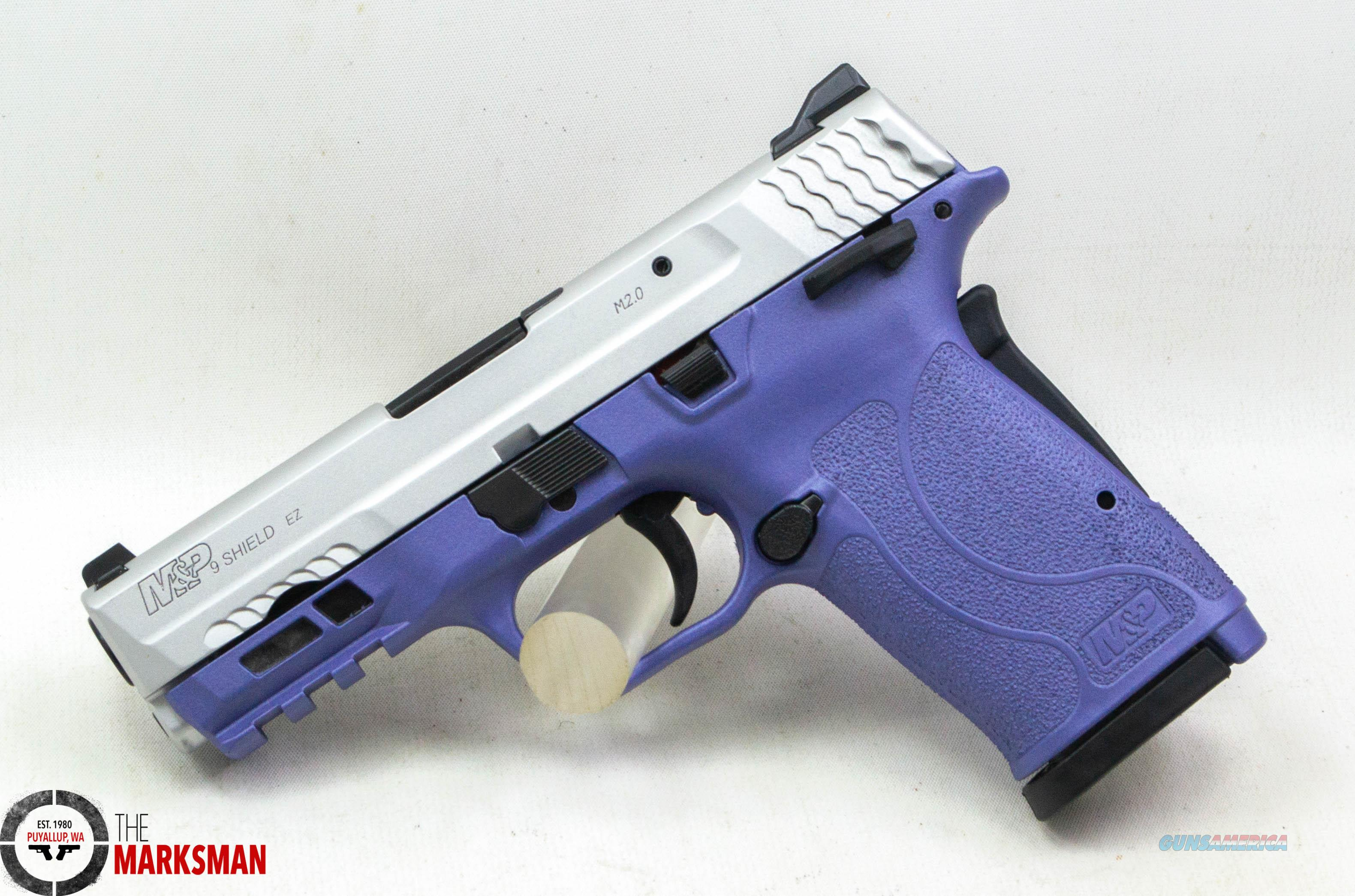 Smith and Wesson M&P9 Shield EZ, 9mm NEW Orchid Frame, Thumb Safety  Guns > Pistols > Smith & Wesson Pistols - Autos > Shield