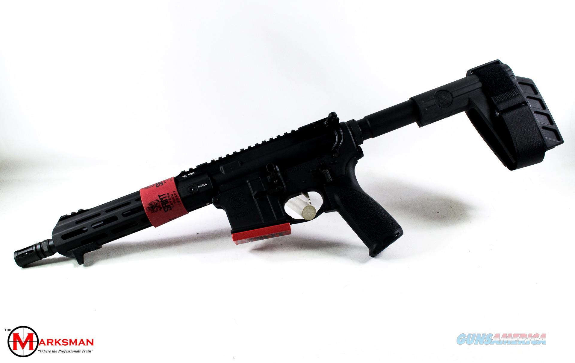 Springfield Armory Saint Victor AR-15 Pistol, .300 Blackout NEW  Guns > Pistols > Springfield Armory Pistols > SAINT Pistol
