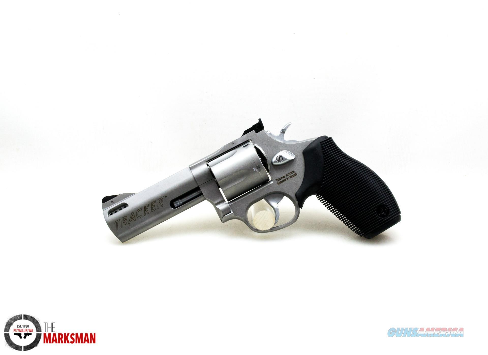 "Taurus Model 44 Tracker, .44 Magnum, Stainless NEW 4""  Guns > Pistols > Taurus Pistols > Revolvers"