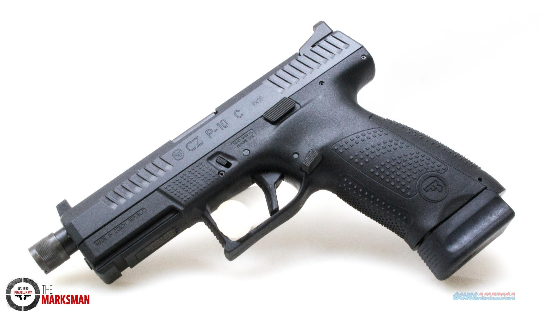 CZ P-10 C Suppressor Ready, 9mm NEW 91523  Guns > Pistols > CZ Pistols