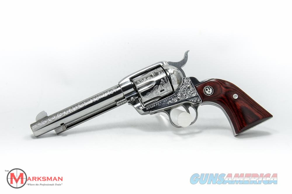 Ruger Engraved Stainless Vaquero .45 Colt NEW 05157  Guns > Pistols > Ruger Single Action Revolvers > Blackhawk Type