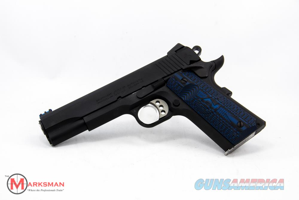 Colt Competition Government 1911, .45 ACP NEW  Guns > Pistols > Colt Automatic Pistols (1911 & Var)