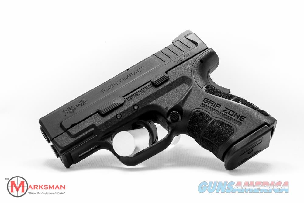 Springfield XD Subcompact Mod 2 9mm NEW  Guns > Pistols > Springfield Armory Pistols > XD (eXtreme Duty)