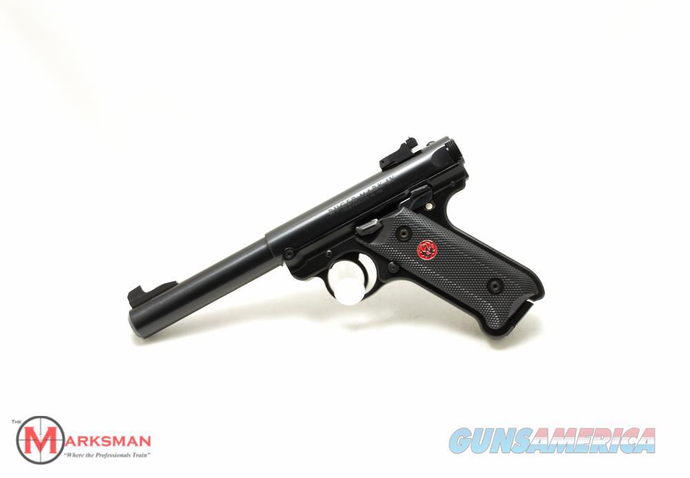 Ruger Mark IV Target, .22 lr NEW 40101  Guns > Pistols > Ruger Semi-Auto Pistols > Mark I/II/III/IV Family
