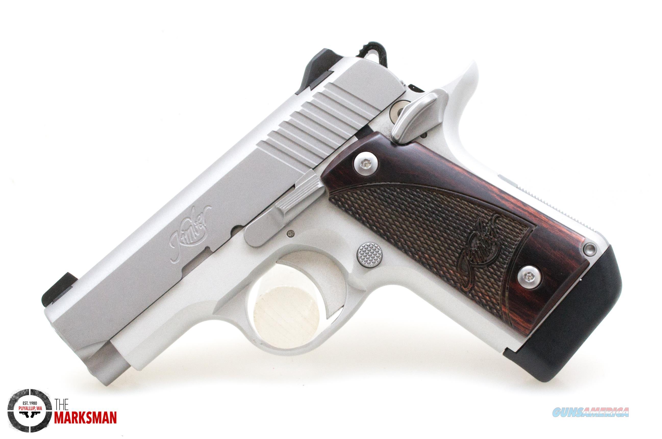Kimber Micro 380 Stainless Rosewood, .380 ACP NEW 3300103  Guns > Pistols > Kimber of America Pistols > Micro