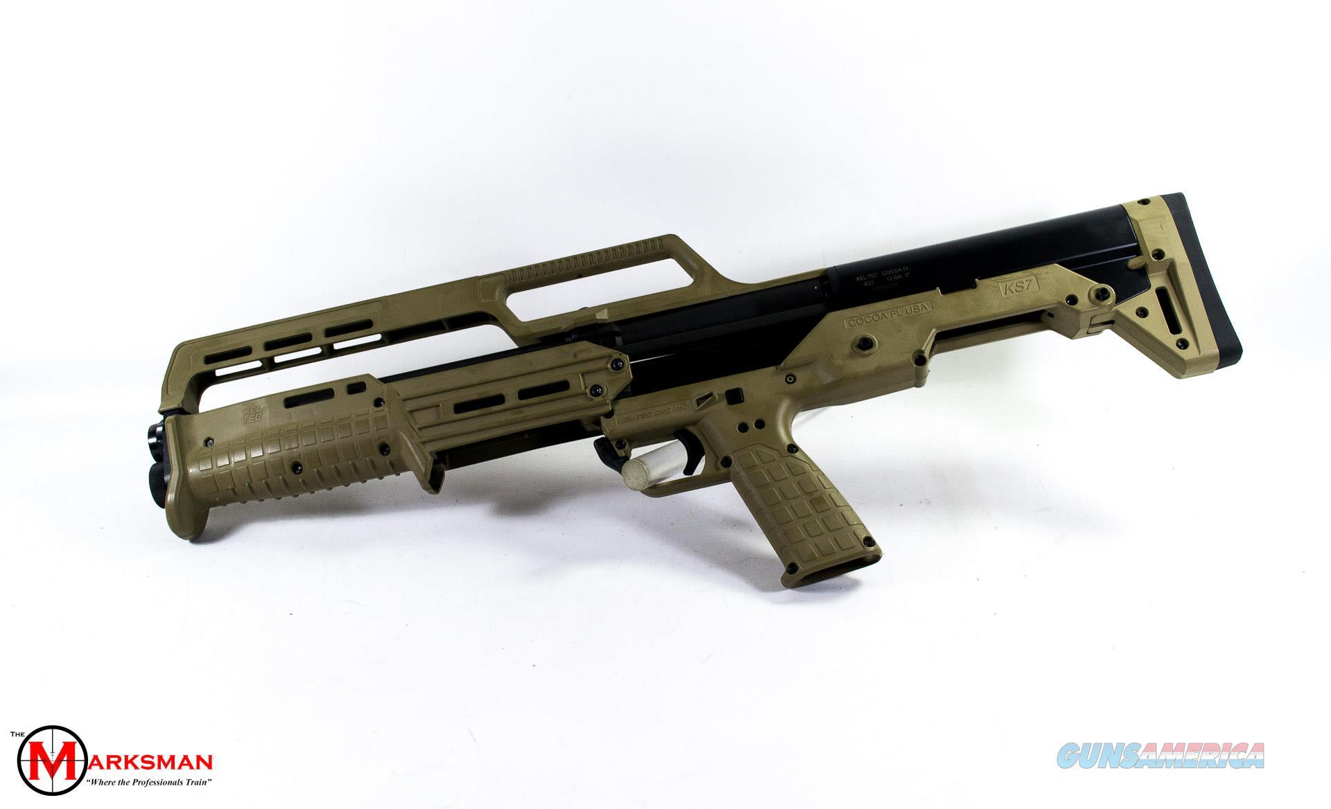 Kel Tec KS7, 12 Gauge, Tan NEW  Guns > Shotguns > Kel-Tec Shotguns > KSG