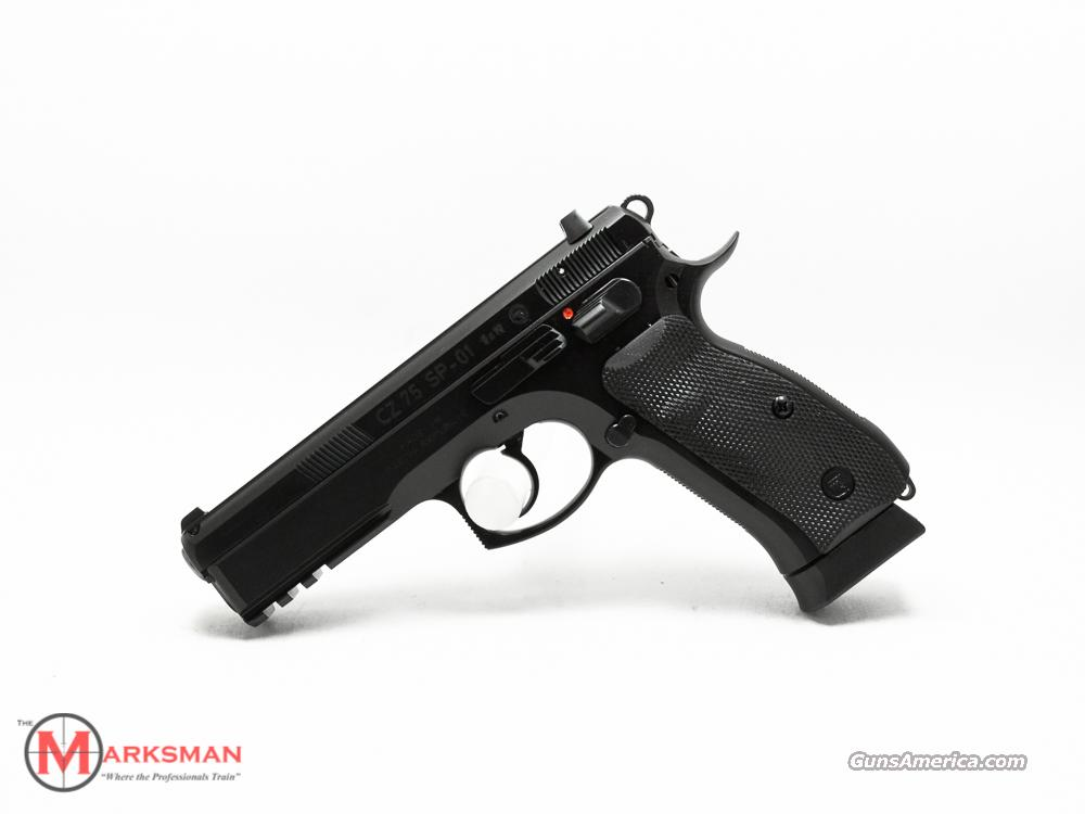 CZ 75 SP-01 9mm NEW 9  Guns > Pistols > CZ Pistols
