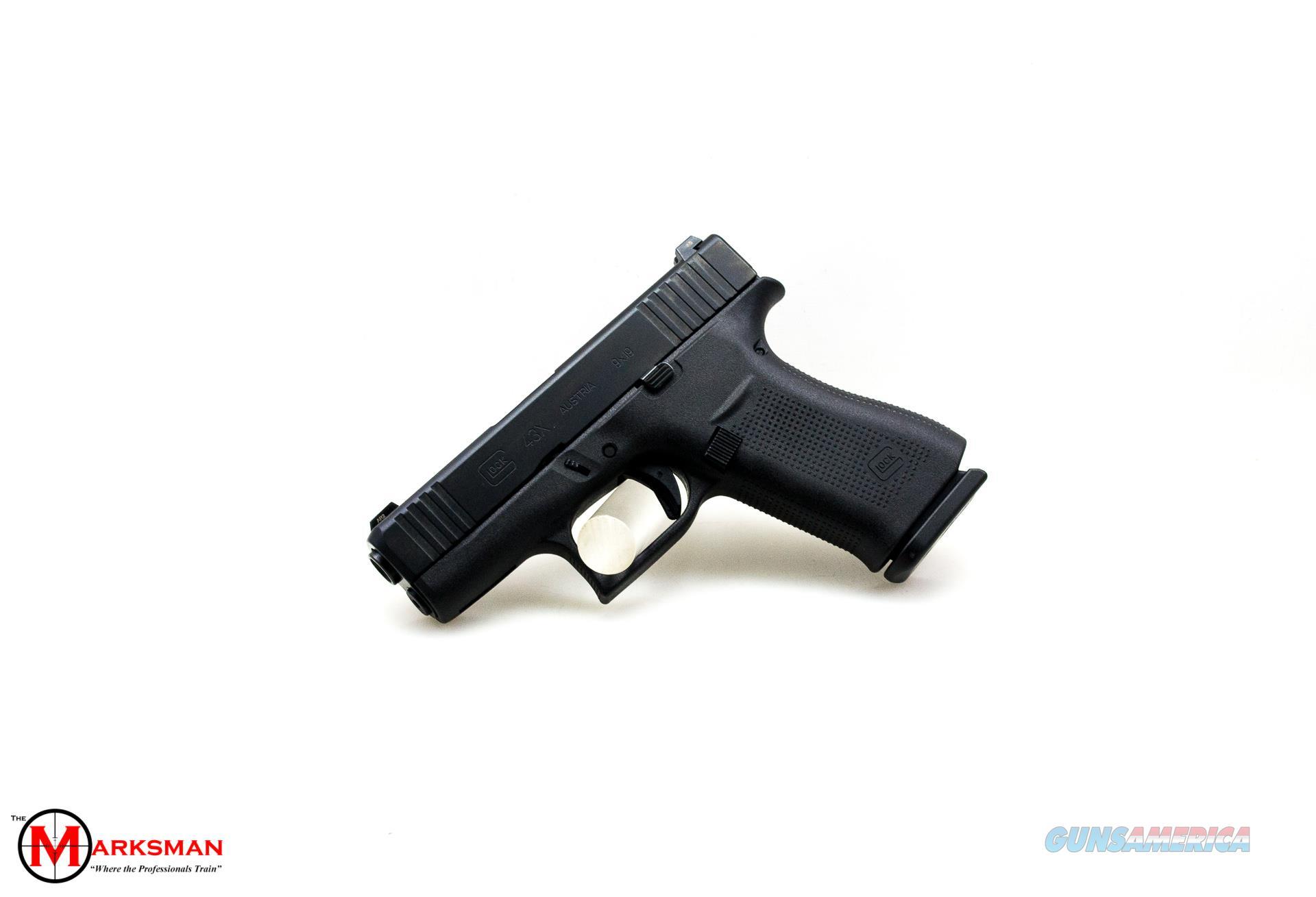Glock 43X, 9mm, Tritium Night Sights NEW  Guns > Pistols > Glock Pistols > 43/43X