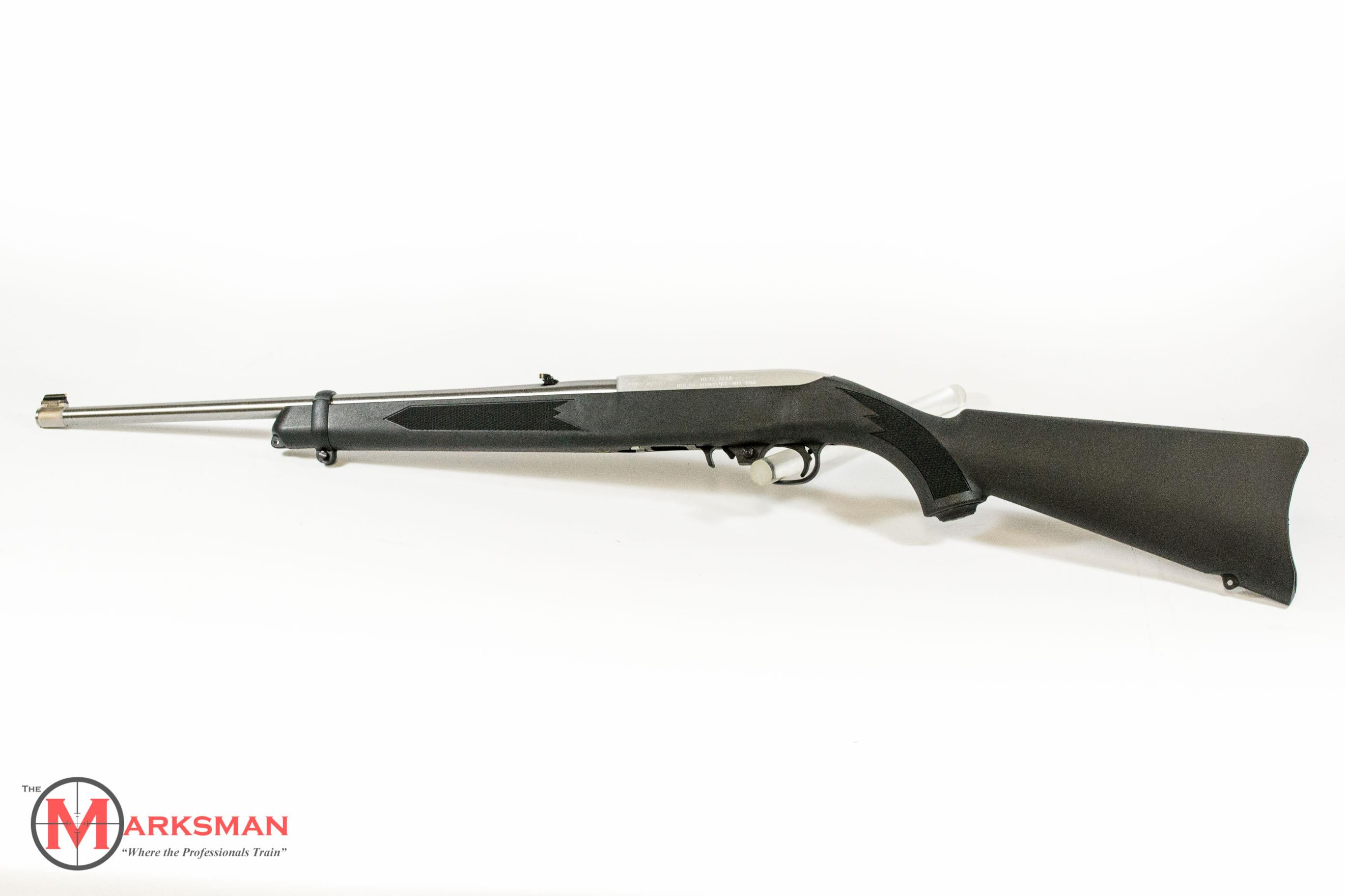 Ruger Stainless 10/22 Carbine .22 lr NEW  Guns > Rifles > Ruger Rifles > 10-22